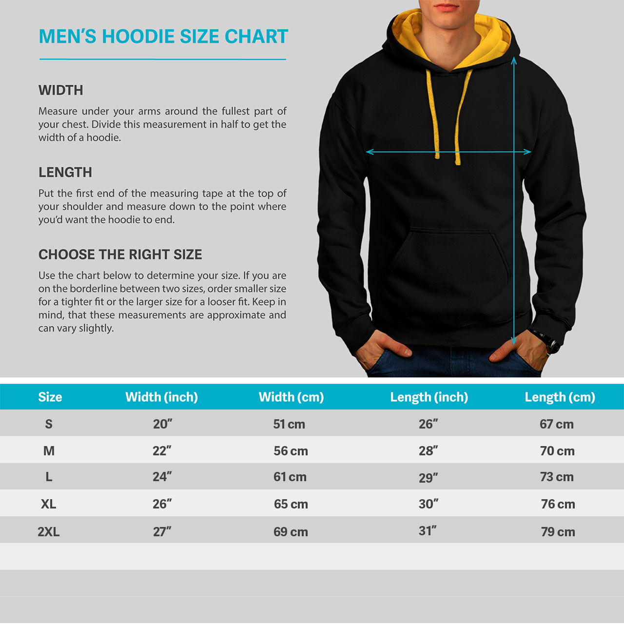 Wellcoda Jumper Hood Casual gold Peace Hoodie Yoga Mindful Black Art Mens Contrast 6axq76rwfB
