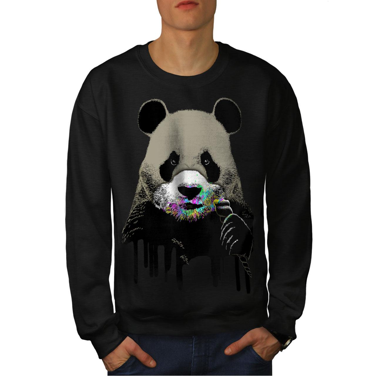 Wellcoda Raven Bird Wild Animal Mens Sweatshirt Bird Casual Pullover Jumper