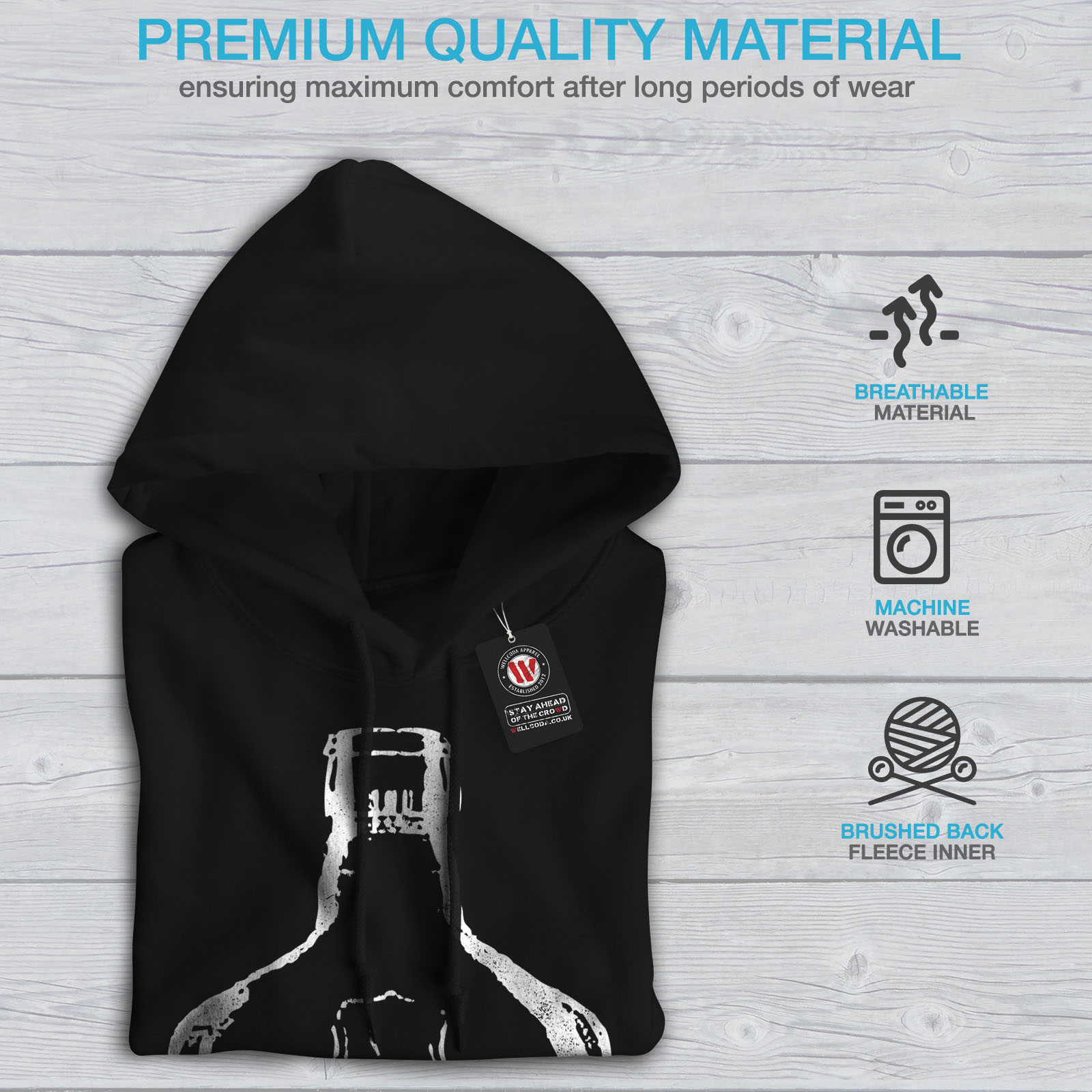 Wellcoda-Unique-Sinner-Funny-Mens-Hoodie-Rum-Casual-Hooded-Sweatshirt thumbnail 8
