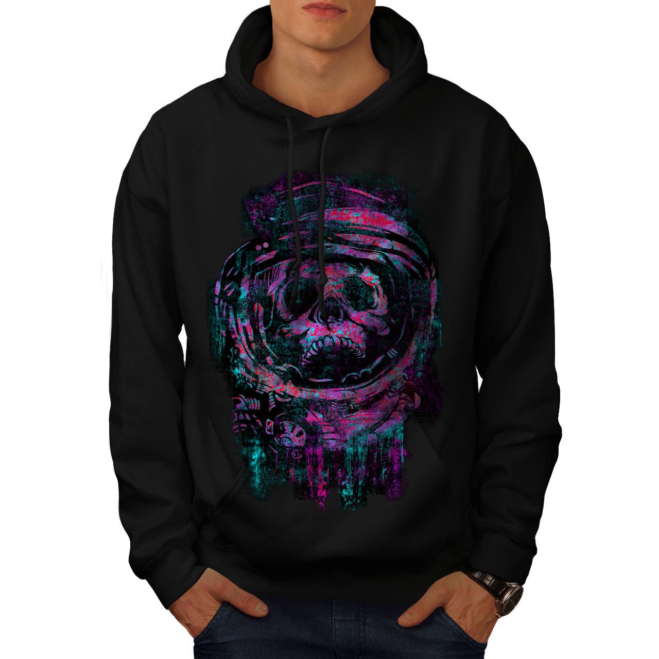 Purple Casual Jumper wellcoda Guy Mystic Being Mens Sweatshirt
