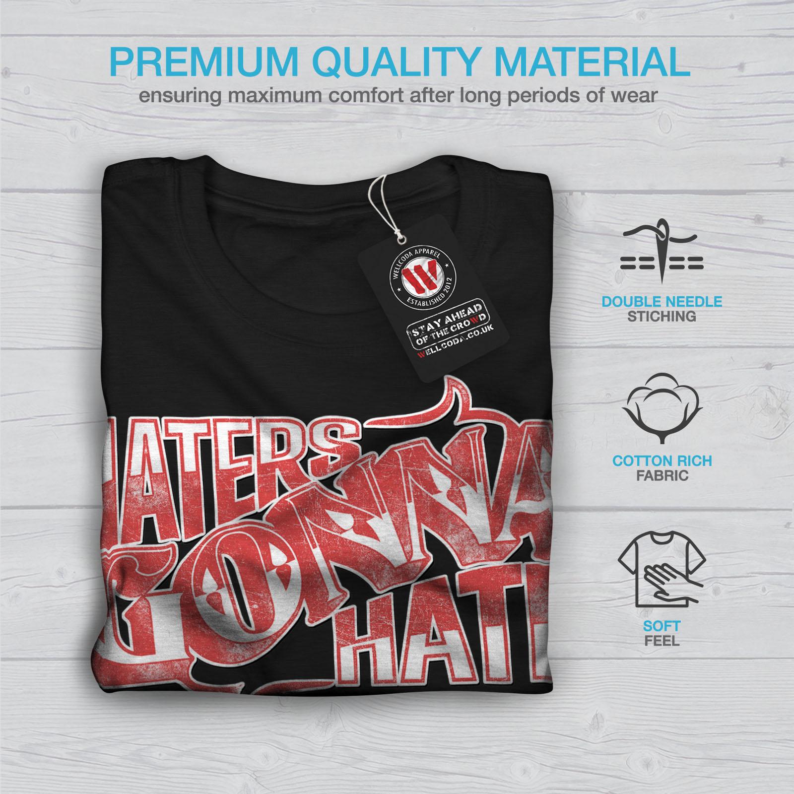 Wellcoda-Wasser-hassen-Zitat-Slogan-Herren-T-Shirt-True-Grafikdesign-Printed-Tee Indexbild 7