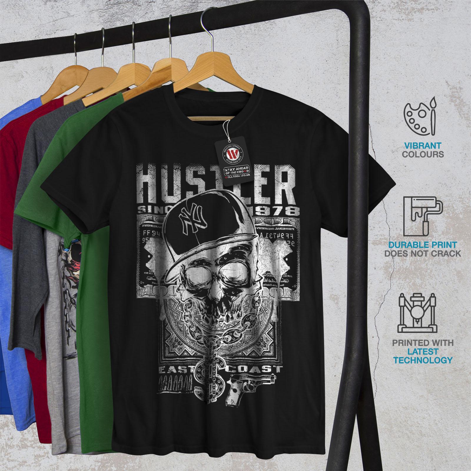 Wellcoda Bob Marley Serious Mens T-shirt Face Graphic Design Printed Tee