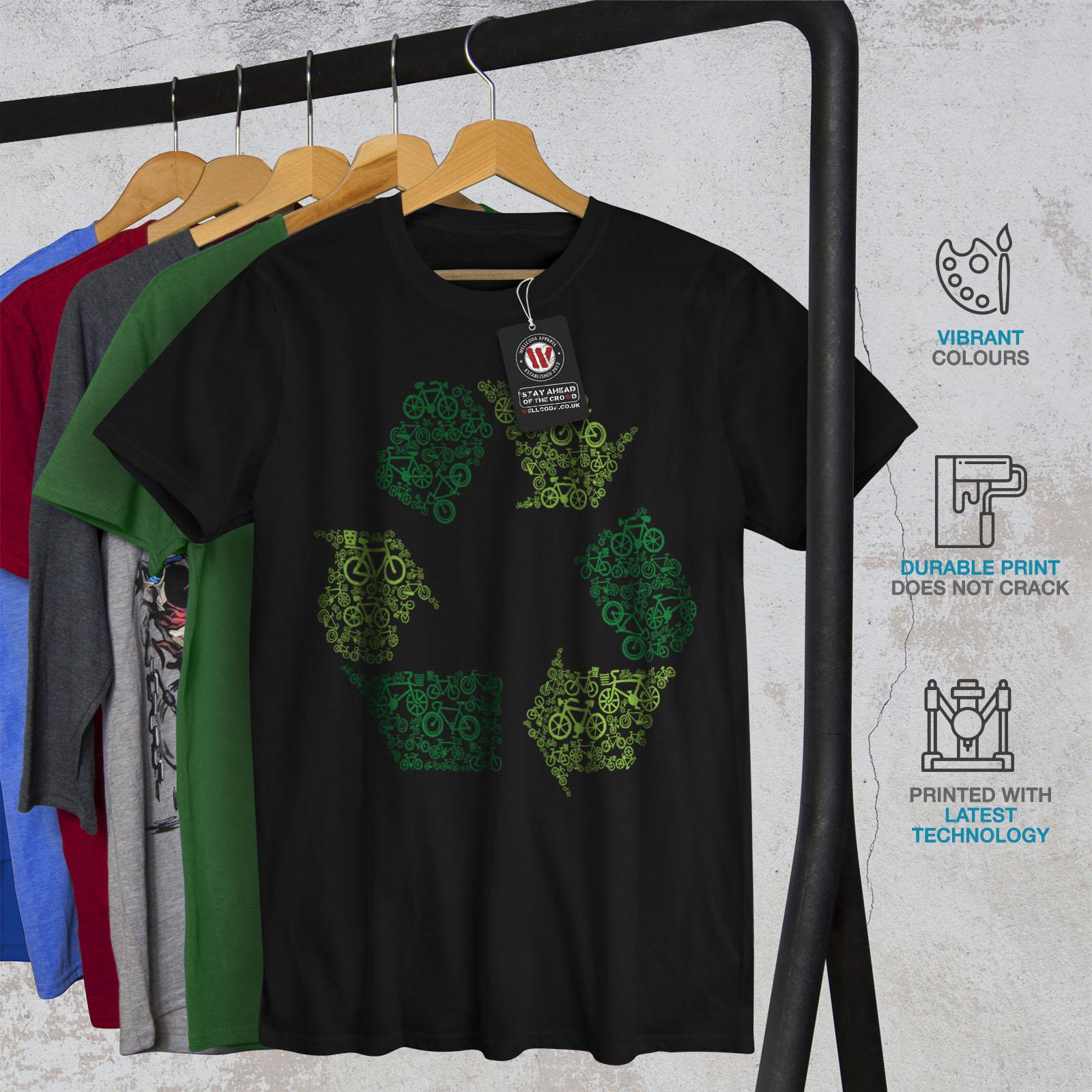 55d09e76 Wellcoda Green Art Eco Funny Mens T-shirt, Graphic Design Printed ...