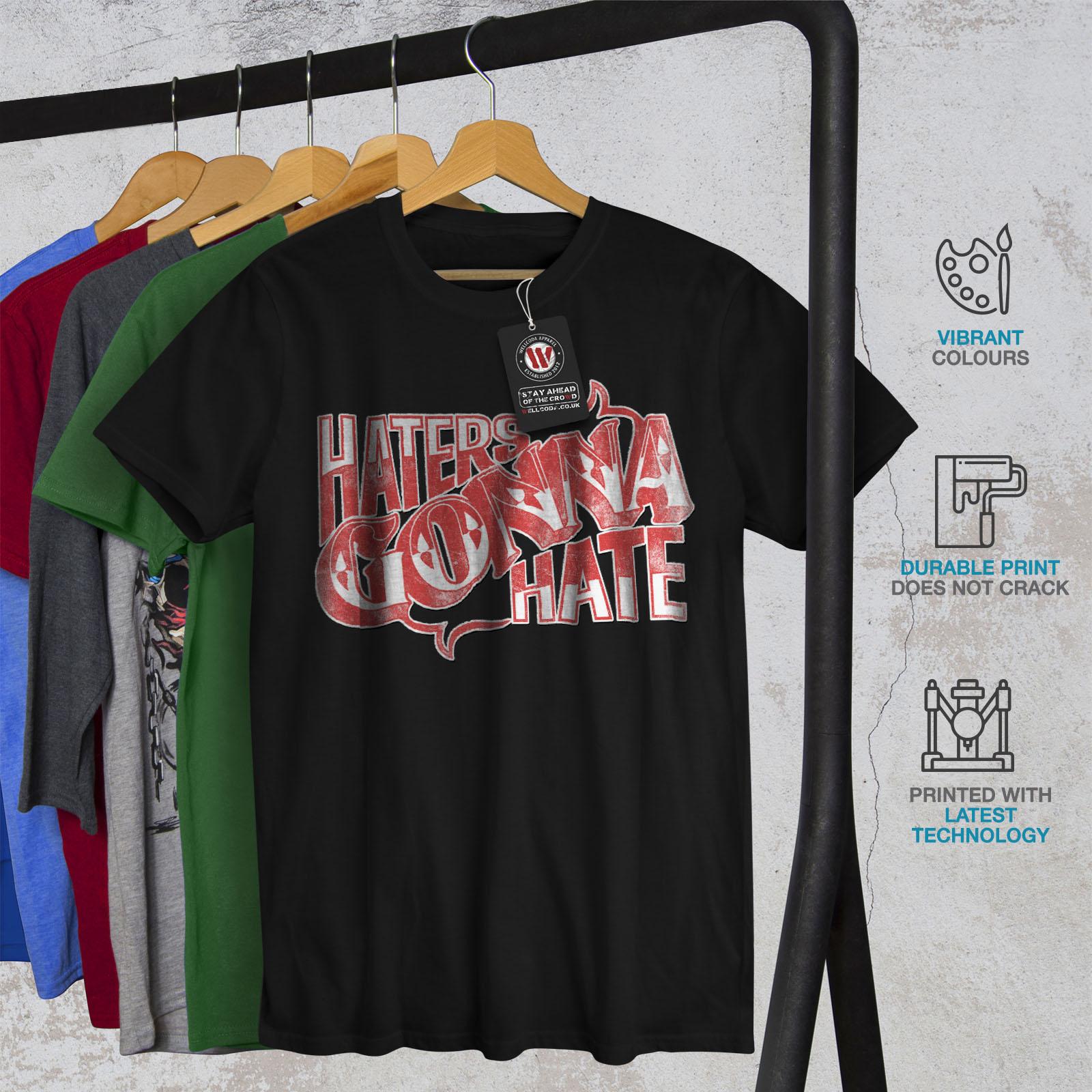 Wellcoda-Wasser-hassen-Zitat-Slogan-Herren-T-Shirt-True-Grafikdesign-Printed-Tee Indexbild 6