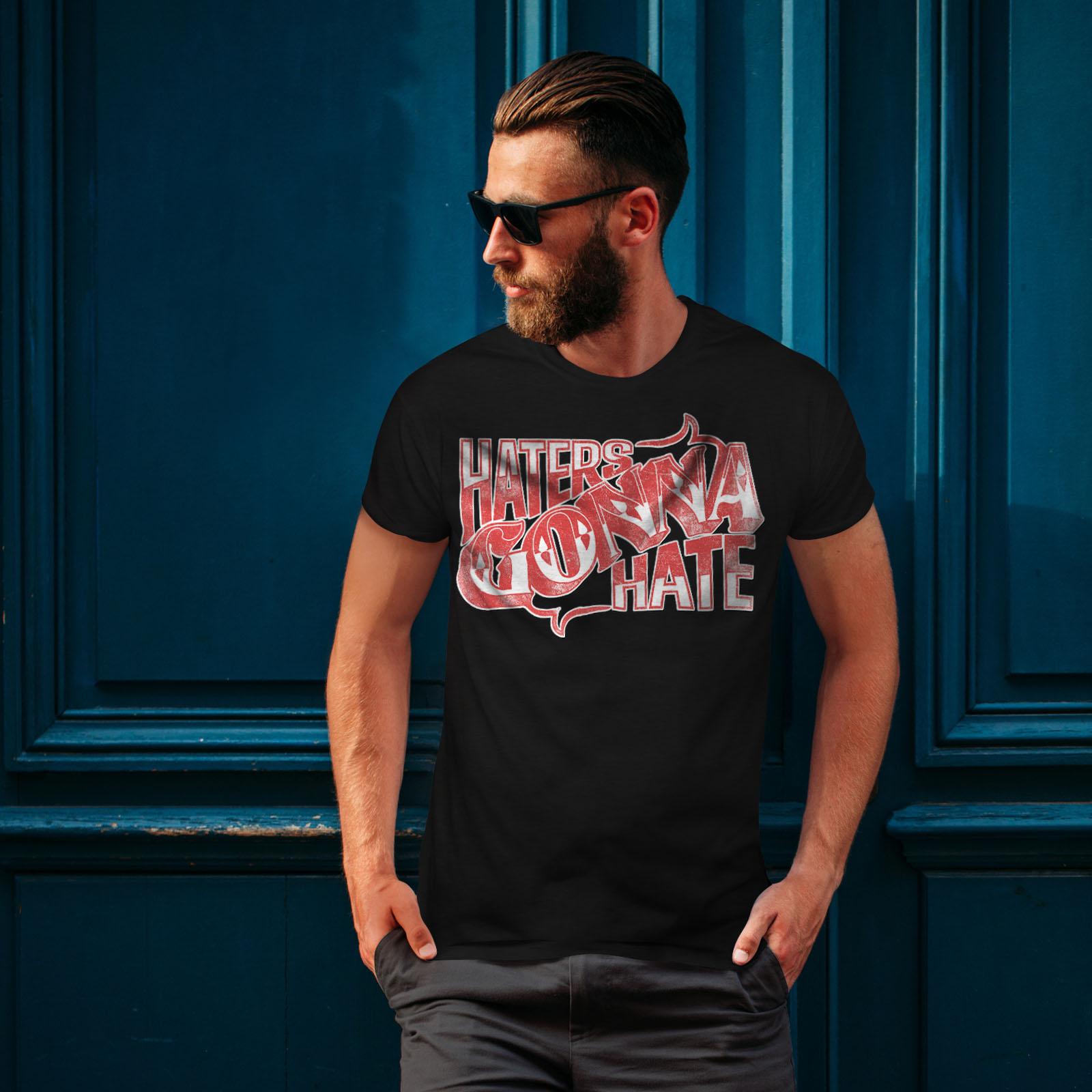 Wellcoda-Wasser-hassen-Zitat-Slogan-Herren-T-Shirt-True-Grafikdesign-Printed-Tee Indexbild 4