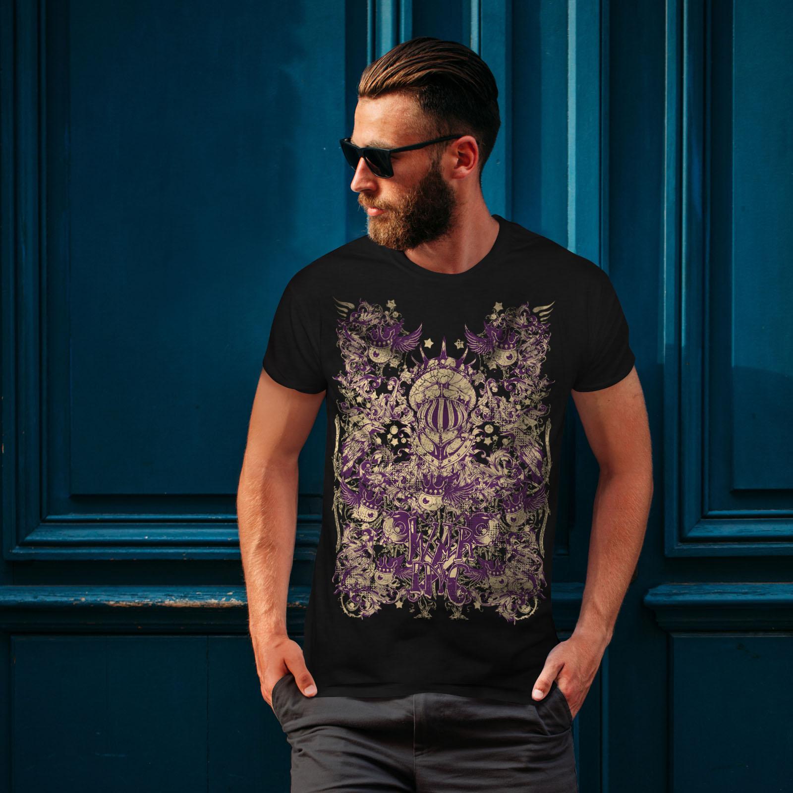 Wellcoda-War-Inc-Zombie-Mens-T-shirt-Monster-Graphic-Design-Printed-Tee thumbnail 4