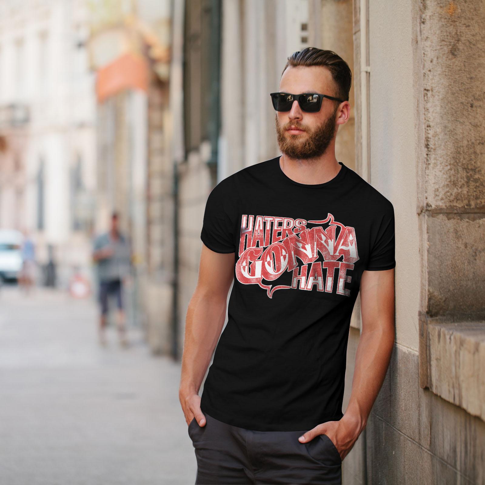 Wellcoda-Wasser-hassen-Zitat-Slogan-Herren-T-Shirt-True-Grafikdesign-Printed-Tee Indexbild 5