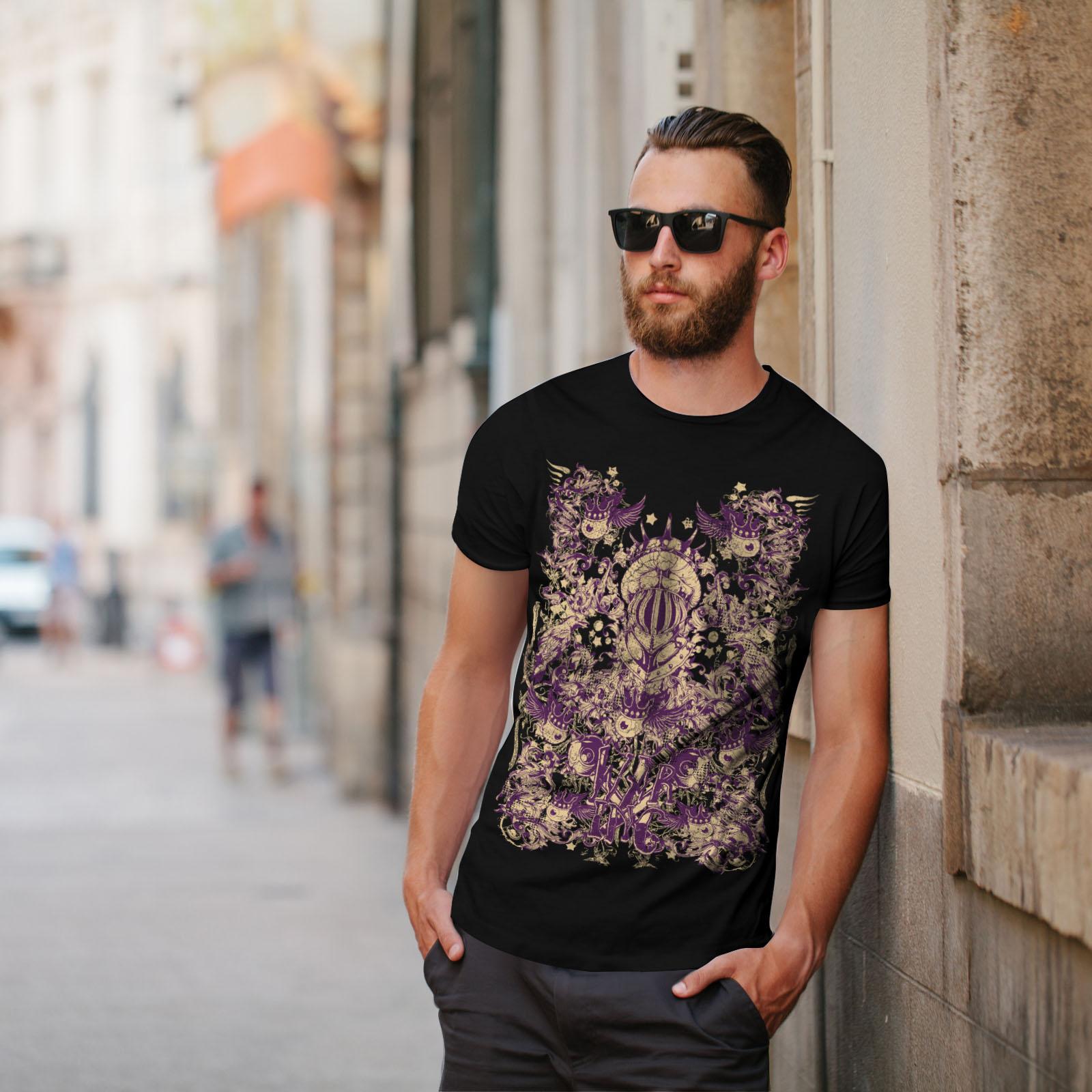 Wellcoda-War-Inc-Zombie-Mens-T-shirt-Monster-Graphic-Design-Printed-Tee thumbnail 5