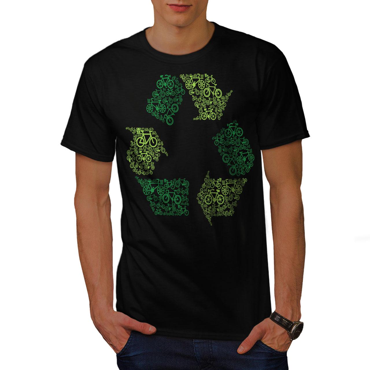 d3e304e8 Wellcoda Green Art Eco Funny Mens T-shirt, 0 Graphic Design Printed ...