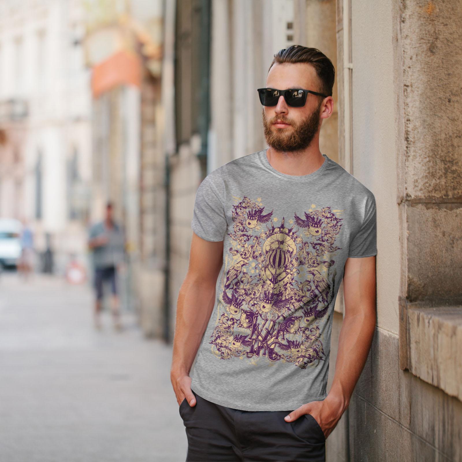 Wellcoda-War-Inc-Zombie-Mens-T-shirt-Monster-Graphic-Design-Printed-Tee thumbnail 17