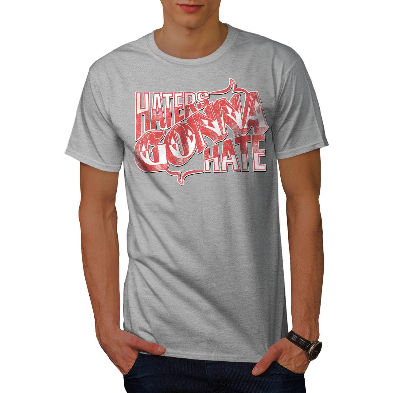 Wellcoda-Wasser-hassen-Zitat-Slogan-Herren-T-Shirt-True-Grafikdesign-Printed-Tee