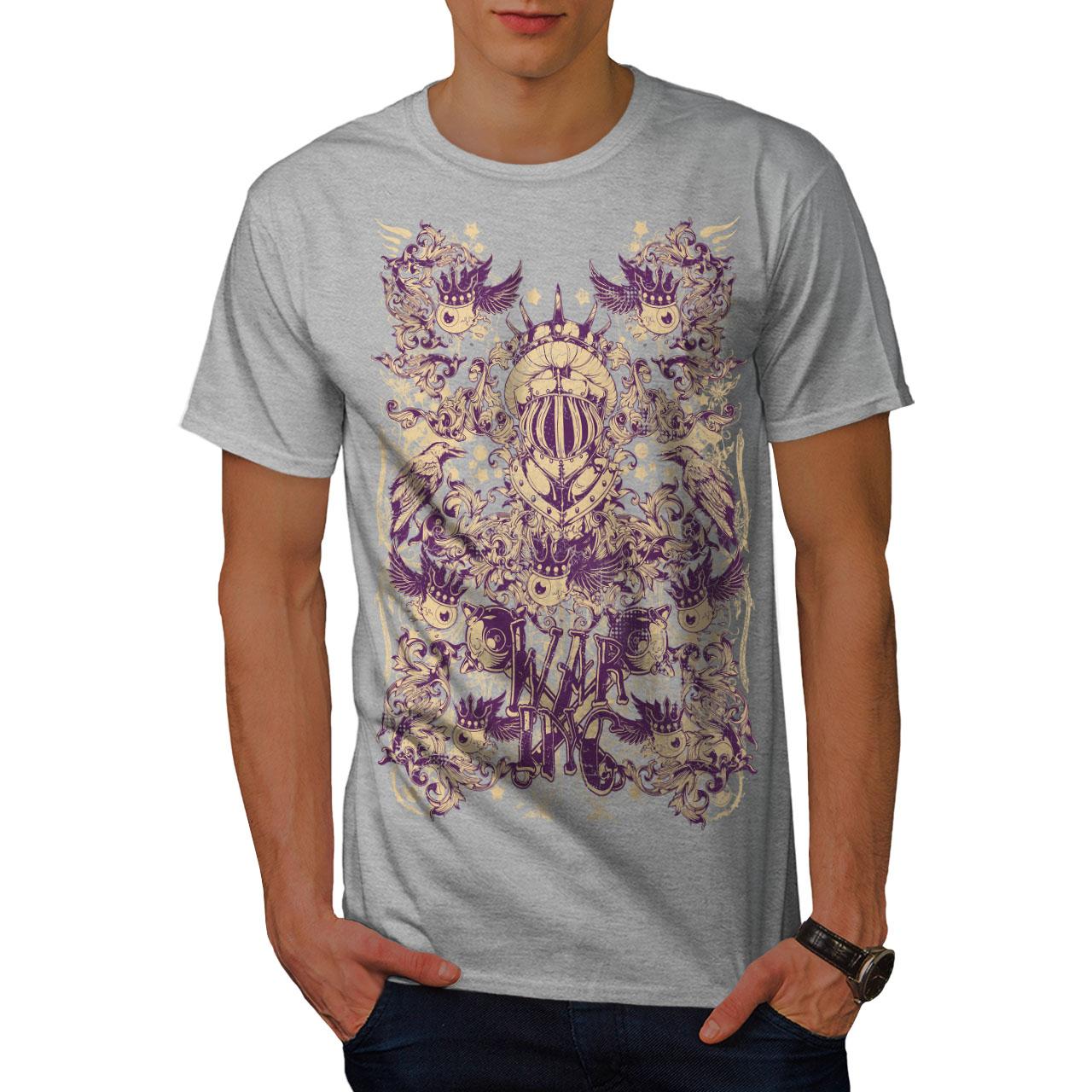 Wellcoda-War-Inc-Zombie-Mens-T-shirt-Monster-Graphic-Design-Printed-Tee thumbnail 15