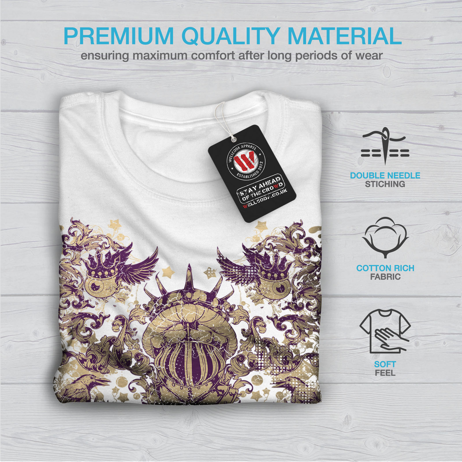 Wellcoda-War-Inc-Zombie-Mens-T-shirt-Monster-Graphic-Design-Printed-Tee thumbnail 13