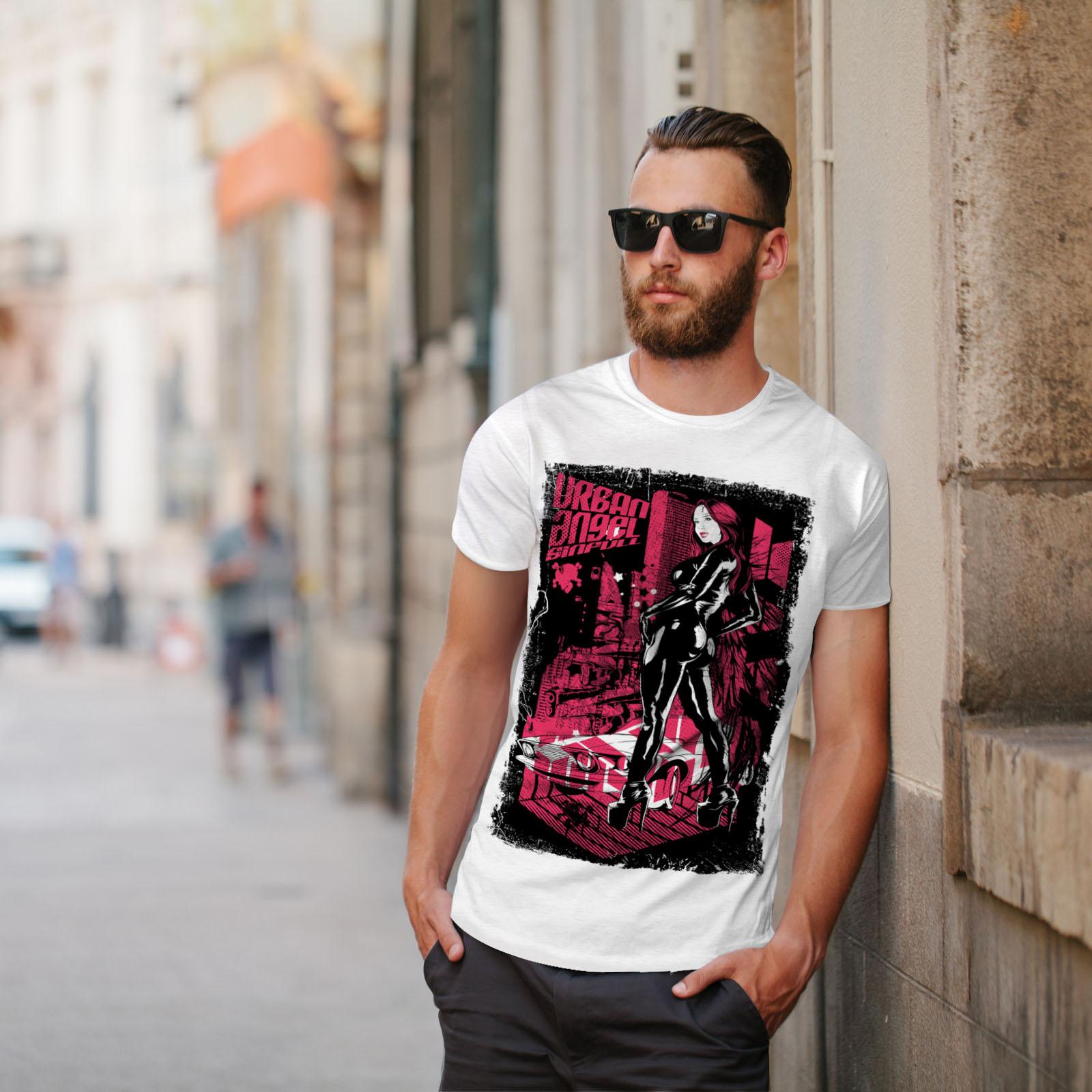 Car Casual Design Printed Tee Wellcoda Welcome To Jungle Animal Womens T-shirt