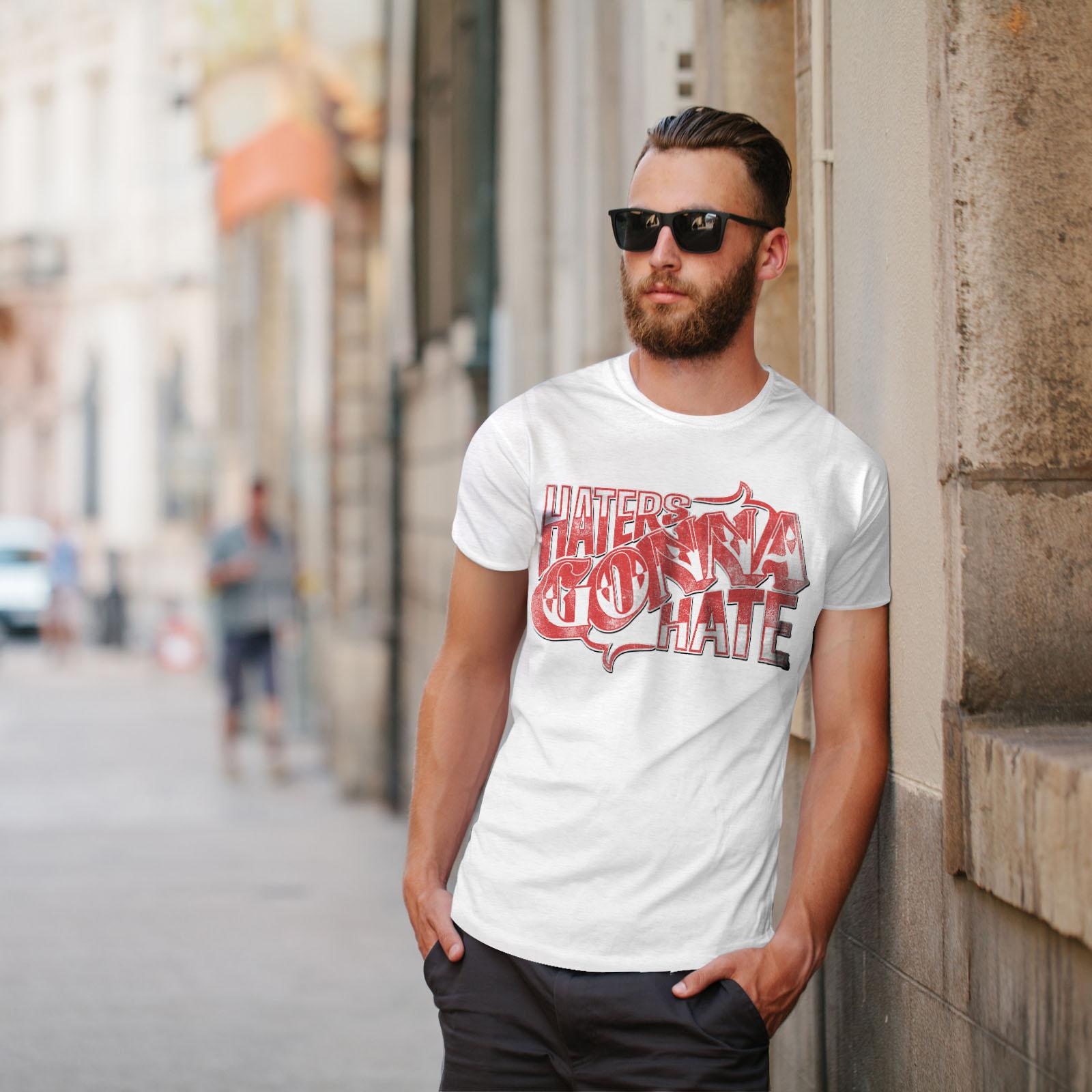 Wellcoda-Wasser-hassen-Zitat-Slogan-Herren-T-Shirt-True-Grafikdesign-Printed-Tee Indexbild 11