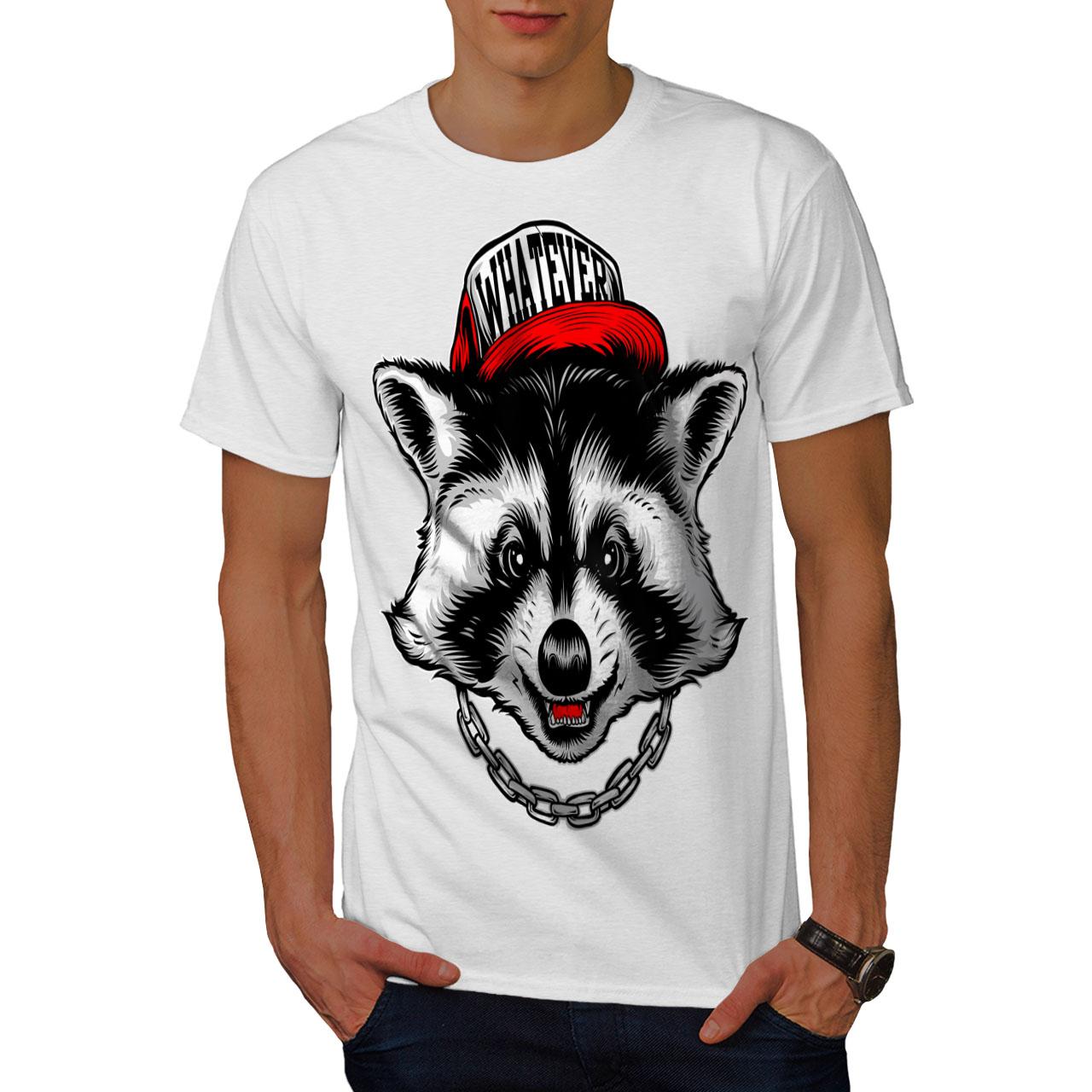 Visible tout RATON LAVEUR Animal T-shirt homme, SWAG SWAG SWAG design graphique imprimé Tee 91e8f3