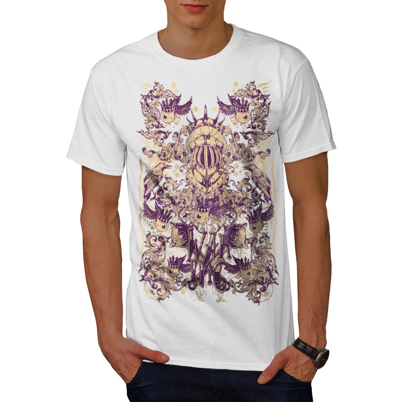 Wellcoda-War-Inc-Zombie-Mens-T-shirt-Monster-Graphic-Design-Printed-Tee thumbnail 9