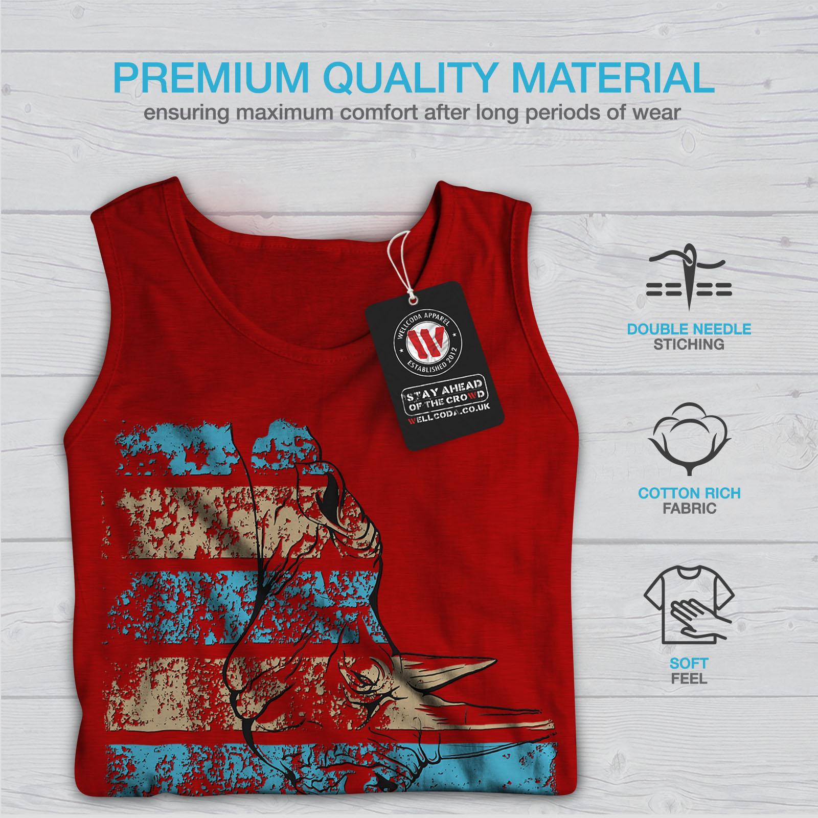 America Casual Jumper wellcoda Red Desert Photo Mens Sweatshirt