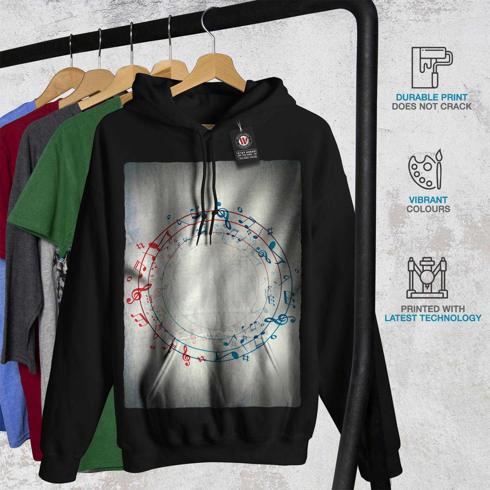 Vision Casual Hooded Sweatshirt Wellcoda New Mens Hoodie