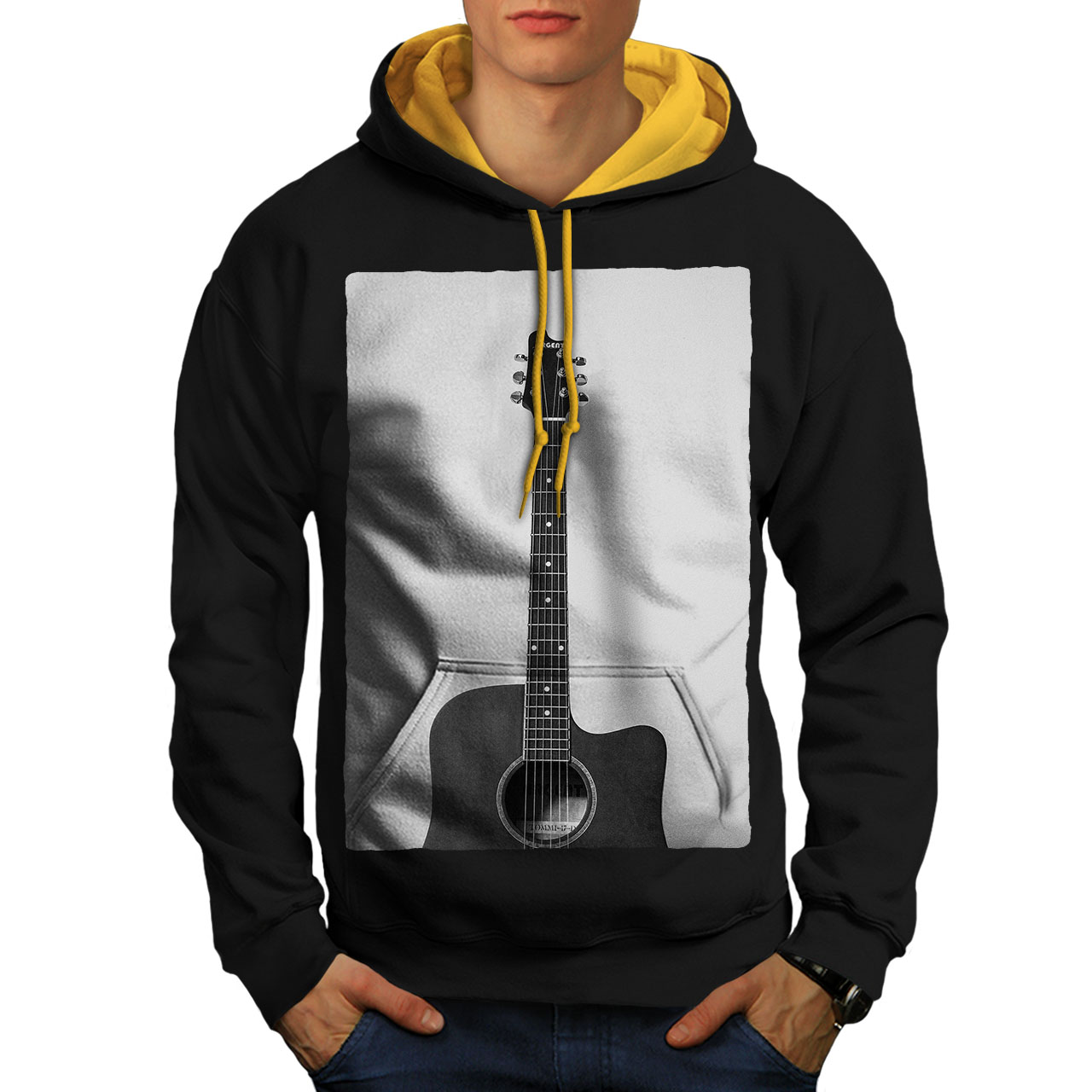 Casual Jumper wellcoda Space Music Mens Sweatshirt