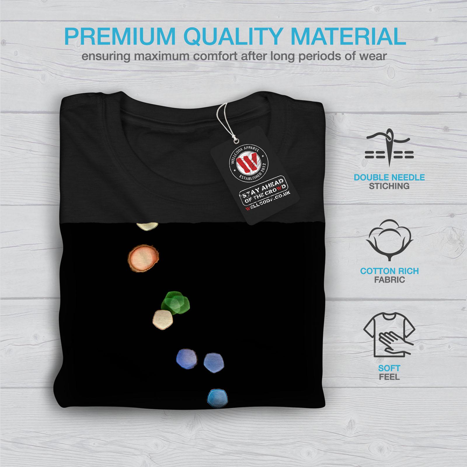 Wellcoda-Tea-Cup-Retro-Old-Mens-T-shirt-Smell-Graphic-Design-Printed-Tee thumbnail 7