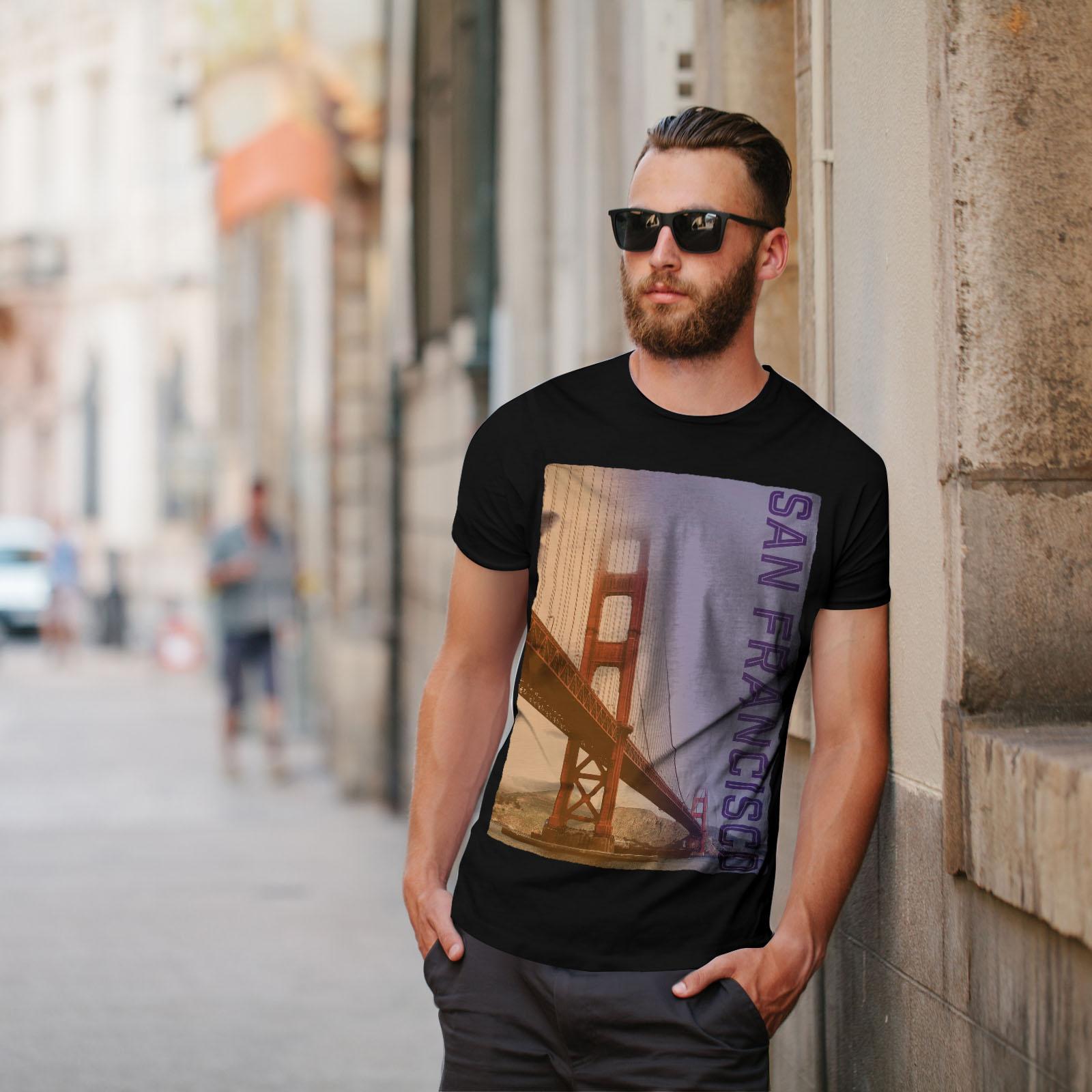 Color Casual Design Wellcoda San Francisco Fashion Womens Long Sleeve T-shirt