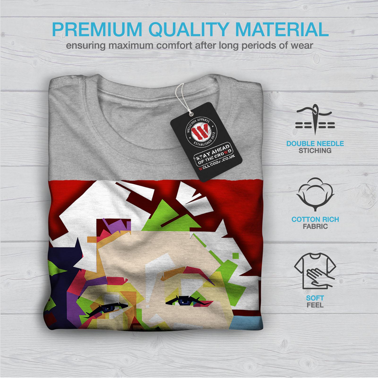 Wellcoda Marilyn Retro Photo Mens T-shirt Urban Graphic Design Printed Tee