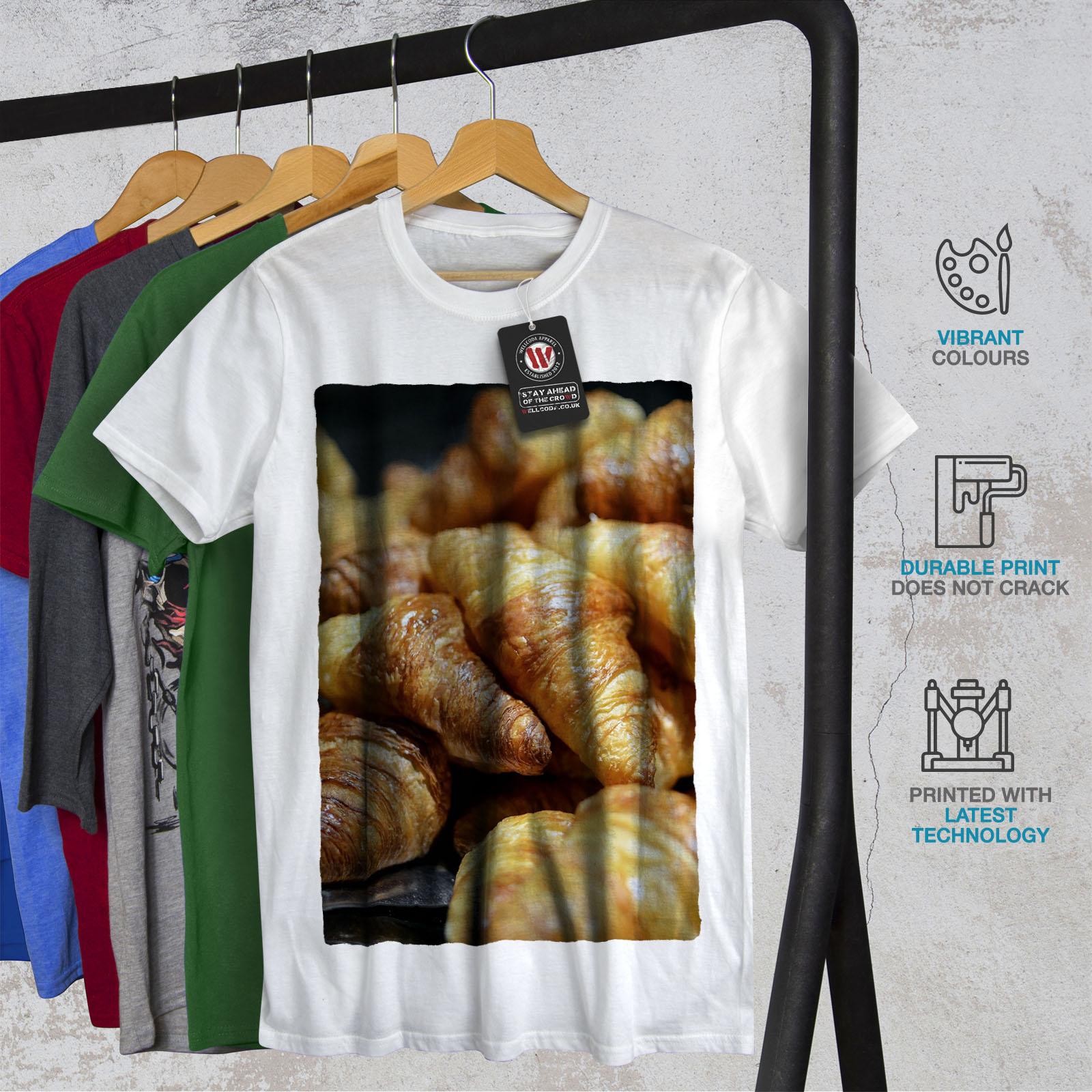 miniature 12 - Wellcoda Bakery Kitchen Sweet Mens T-shirt, Dessert Graphic Design Printed Tee