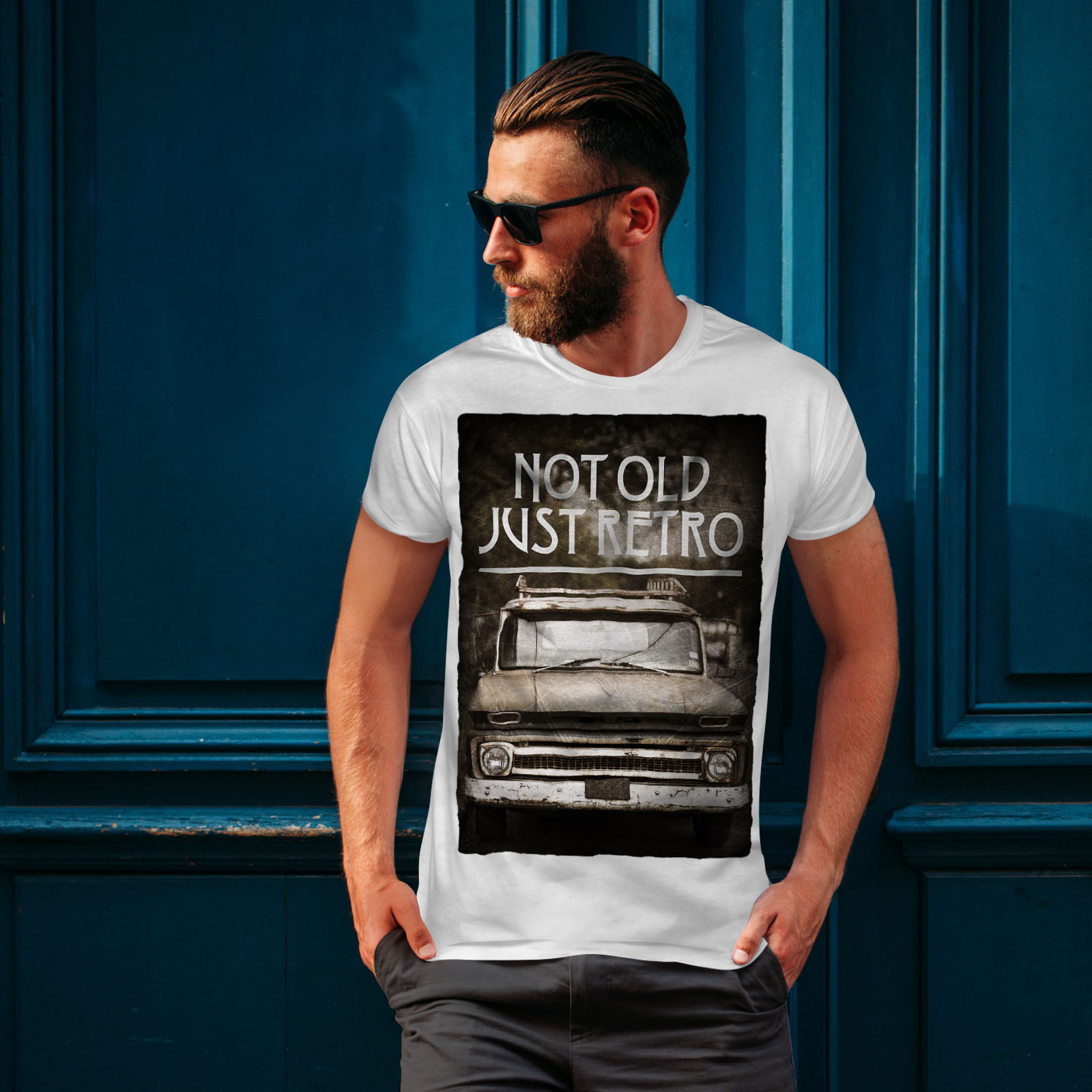 Wellcoda-Not-Old-Retro-Car-Mens-T-shirt-Retro-Graphic-Design-Printed-Tee thumbnail 10