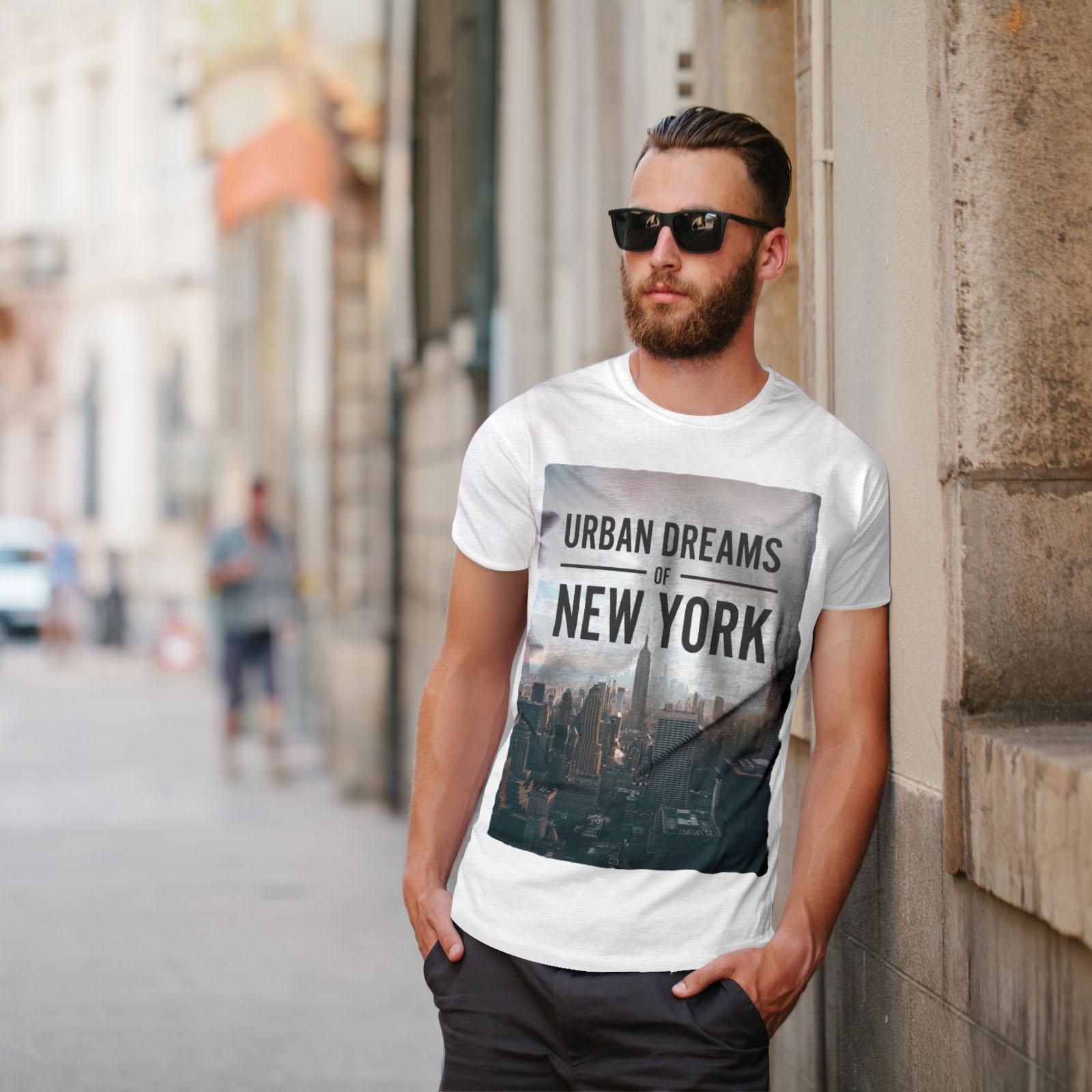 Urban Graphic Design Printed Tee Wellcoda Dream Urban Photo New Mens T-shirt