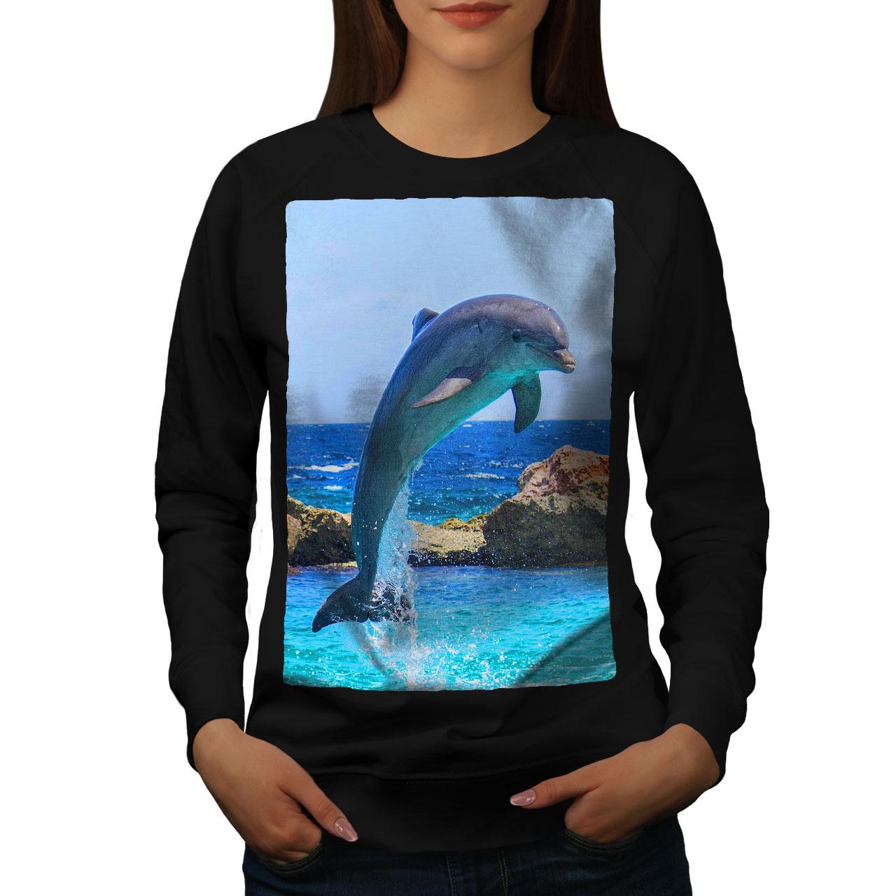 Ocean Casual Jumper wellcoda Beach Freedom Mens Sweatshirt