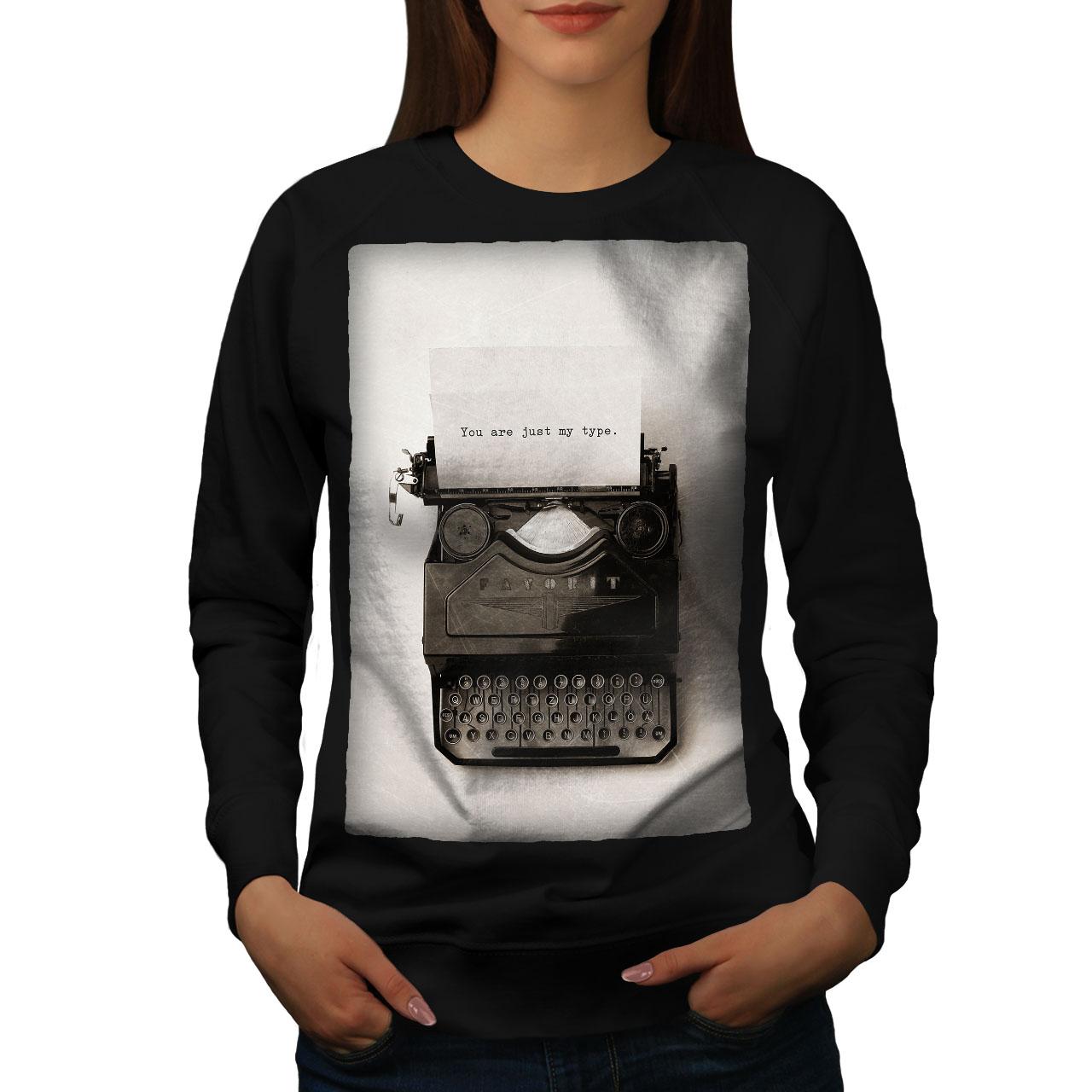 Retro Casual Pullover Jumper Wellcoda Vintage Instruments Womens Sweatshirt