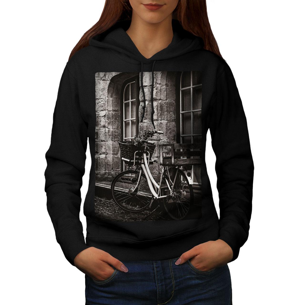 wellcoda Clock Retro Photo Mens Hoodie Vintage Hooded Sweatshirt