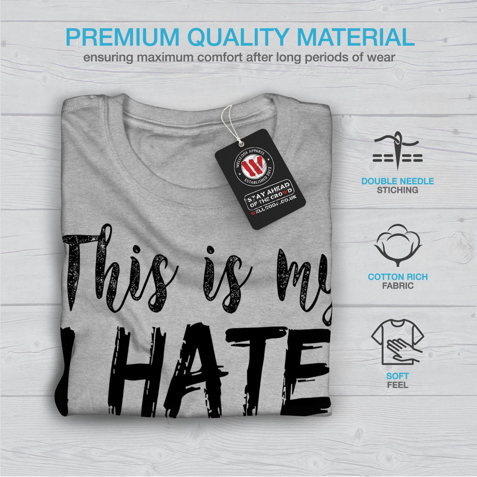 Wellcoda-hasse-alle-heute-Herren-T-Shirt-lustige-Grafikdesign-Printed-Tee Indexbild 19