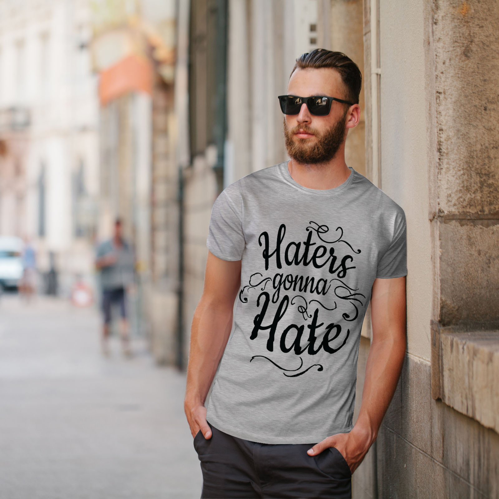 Wellcoda-Hasser-Gonna-Hate-Herren-T-Shirt-lustige-Grafikdesign-Printed-Tee Indexbild 17