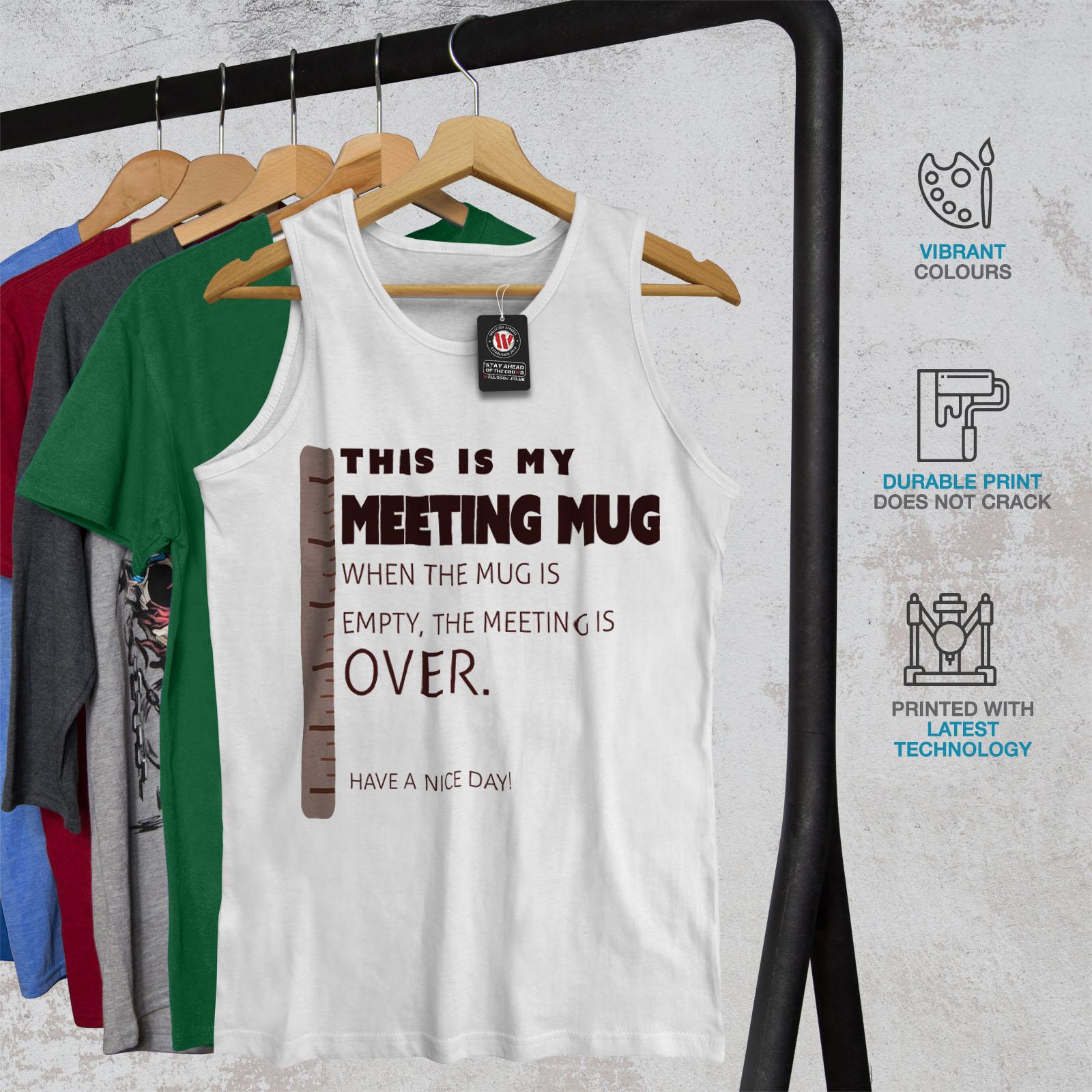 Wellcoda Boss reunión Taza Para Hombre Hombre Hombre Camiseta sin ...