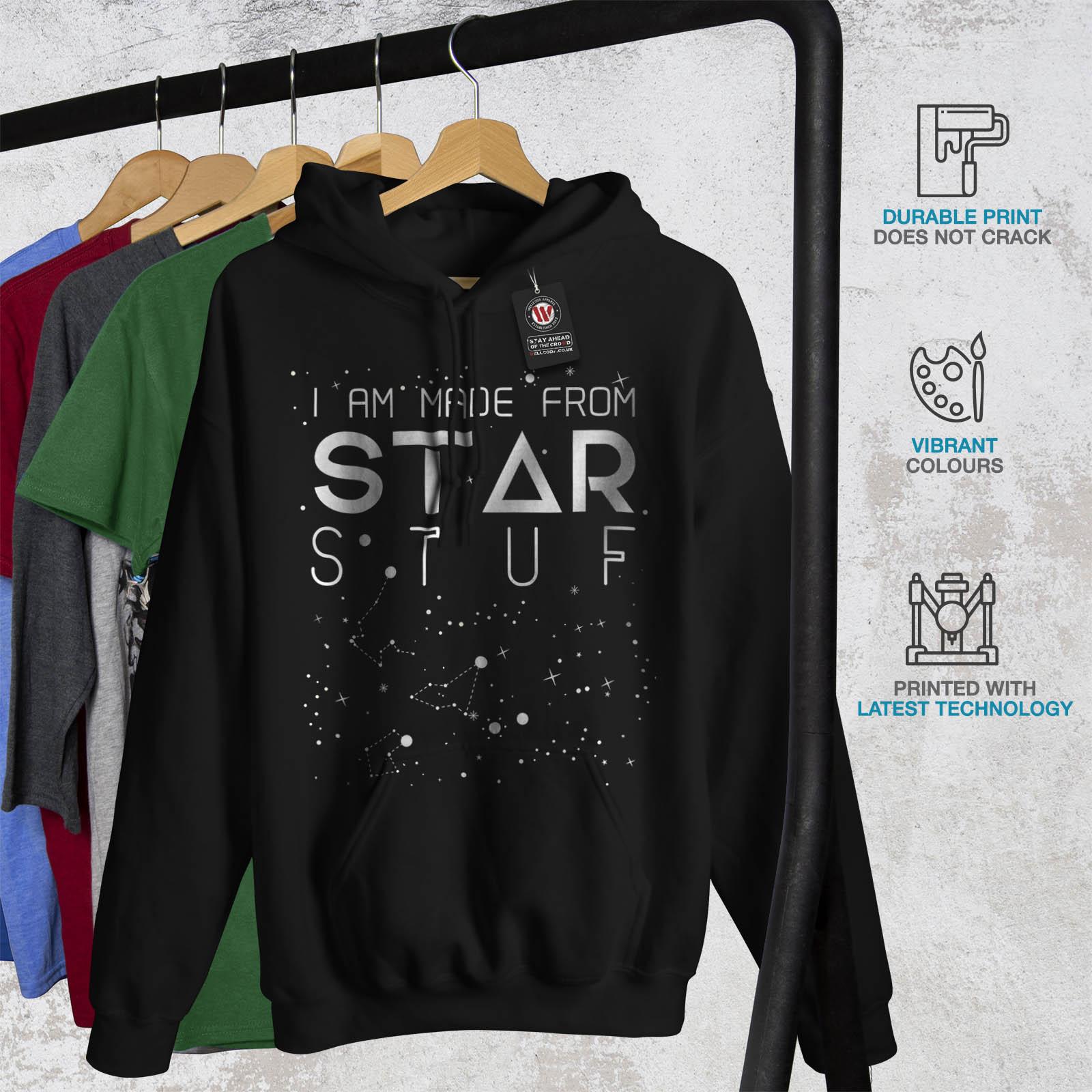Funny Casual Jumper wellcoda Stars Astronomy Quote Mens Sweatshirt