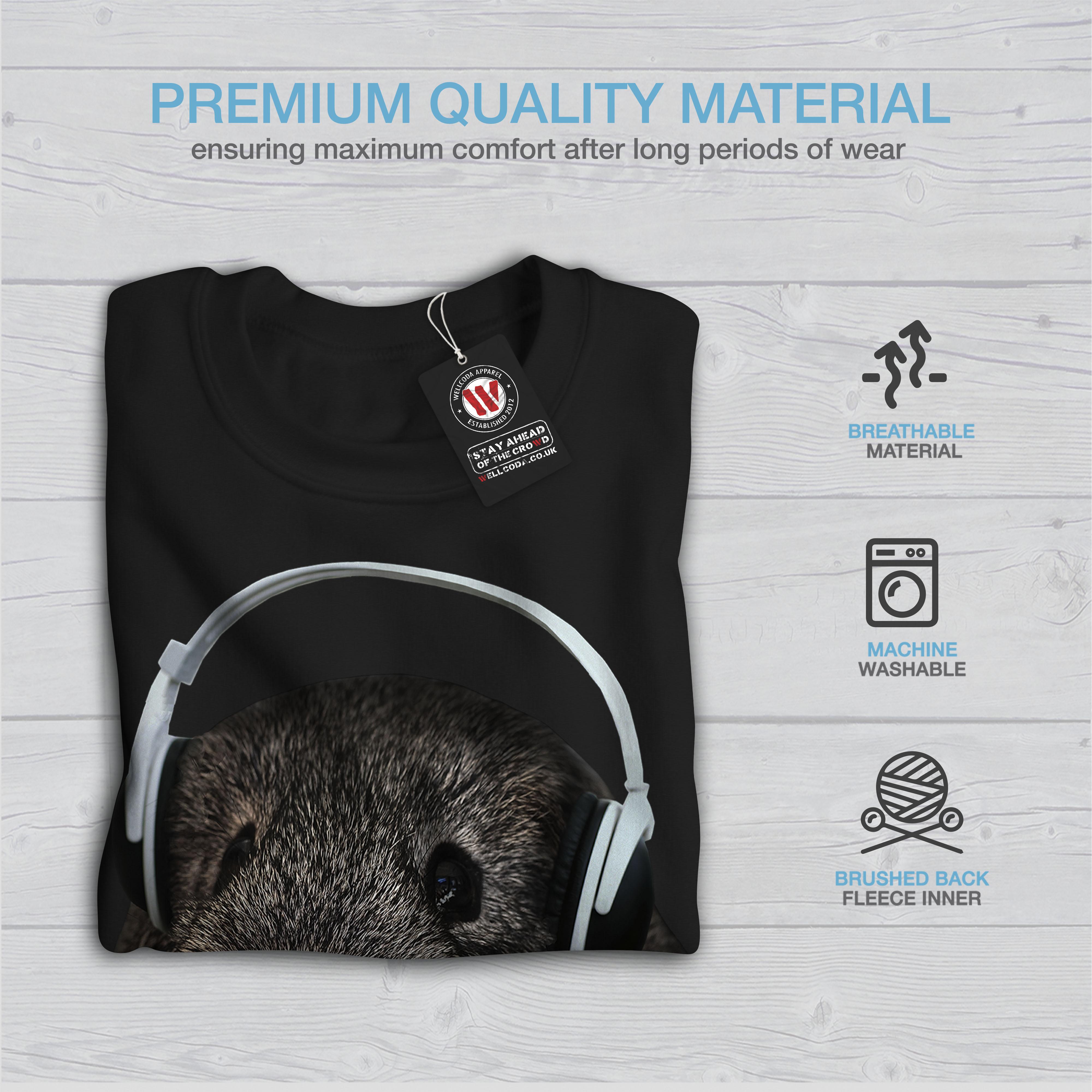 Funny Men Beat New Sweatshirt Black Pig Guinea 8q0OvZ