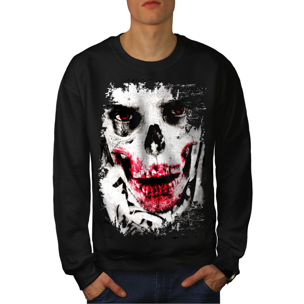 War Casual Jumper wellcoda Death Skeleton Rock Skull Mens Sweatshirt
