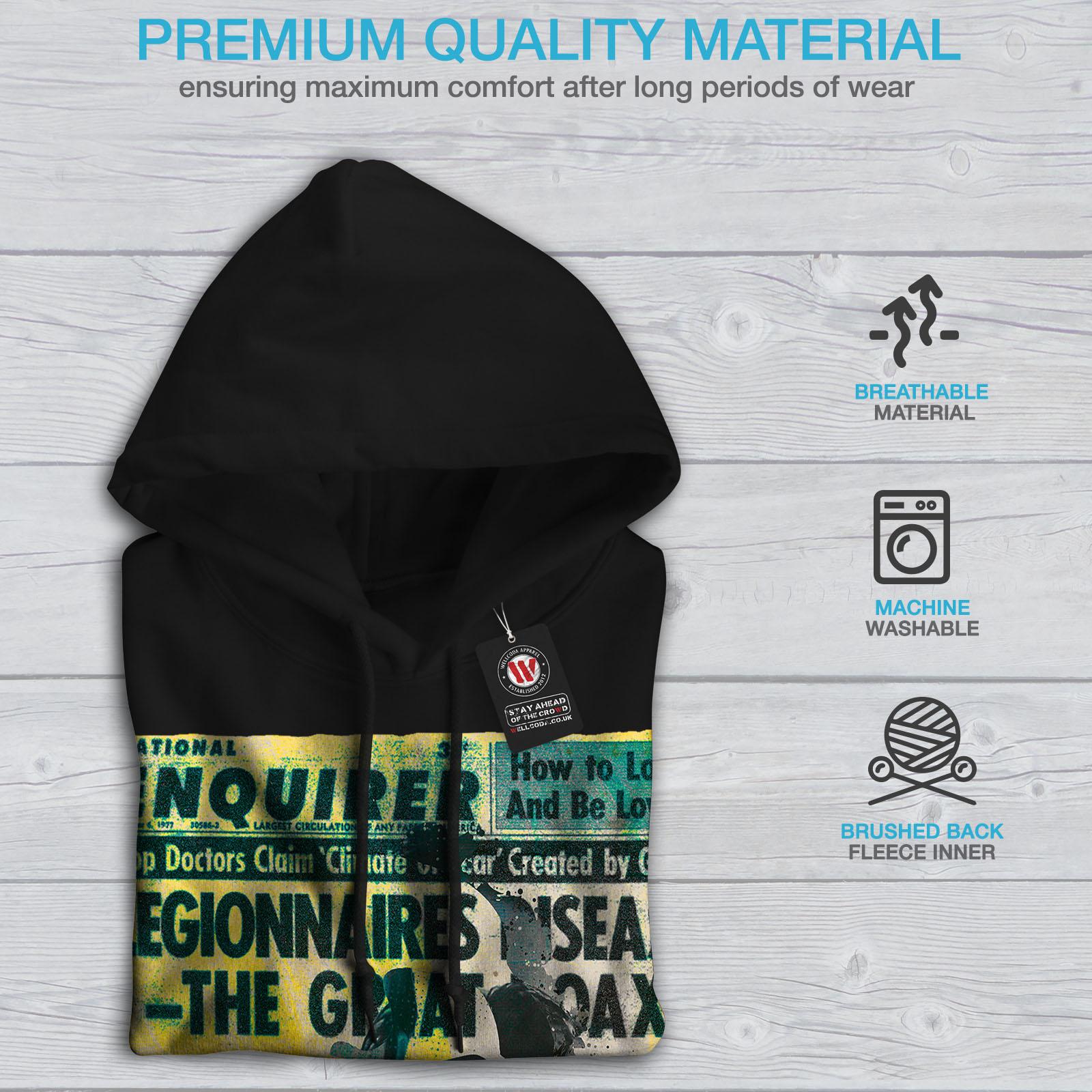 Sweatshirt New Casual Mens Style Hoodie Hooded Black Wellcoda YgpWFnn
