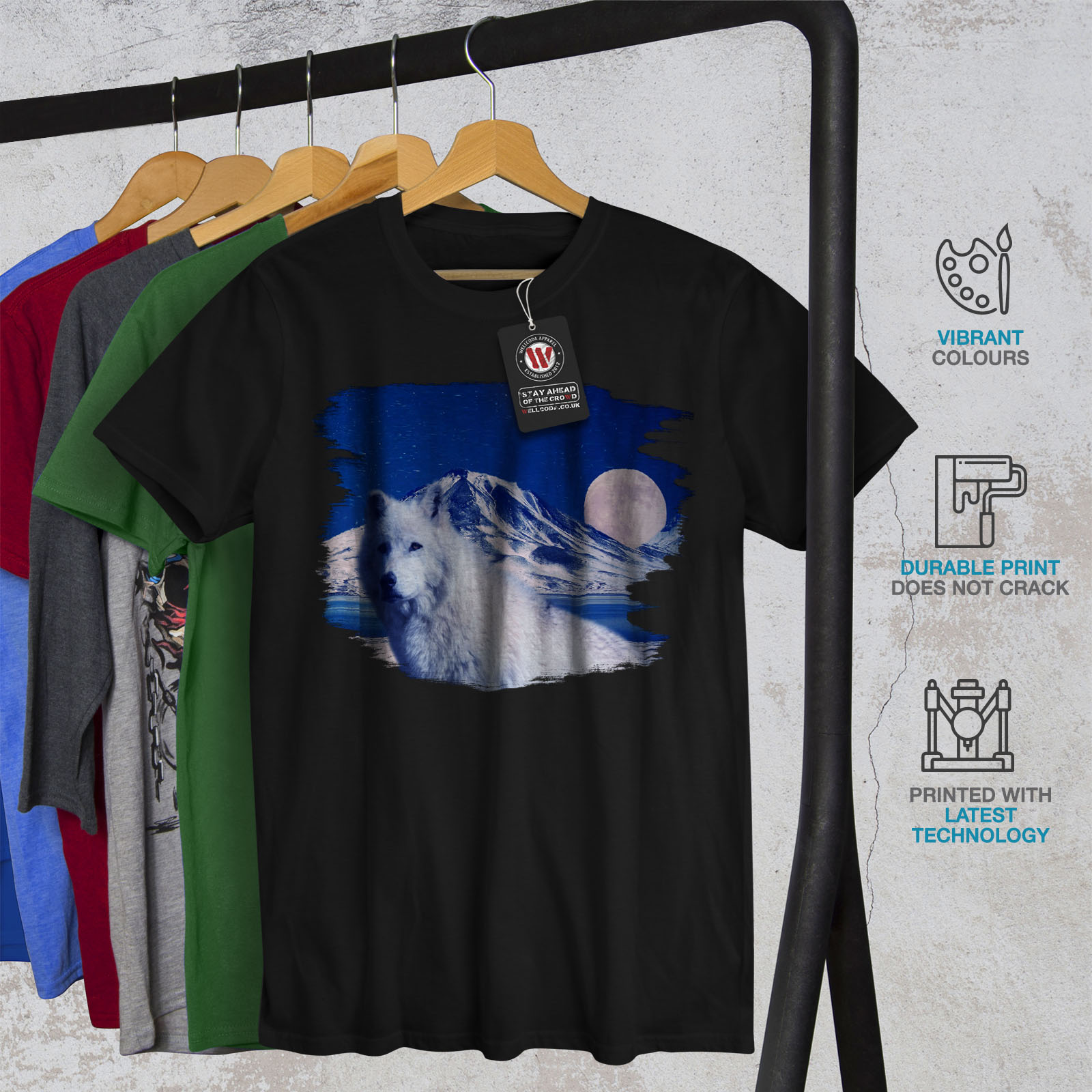 Graphic Design Printed Tee Wellcoda Open Your Mind Mens T-shirt