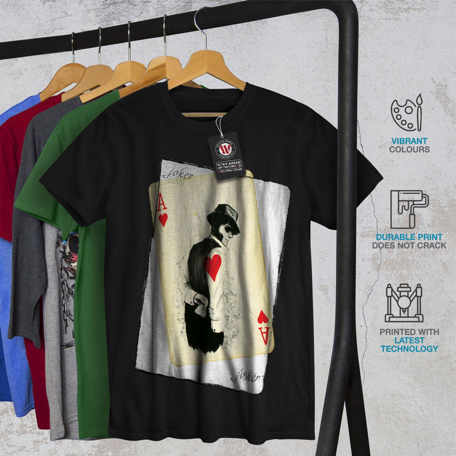 Wellcoda-POKER-misterioso-Da-Uomo-T-shirt-Gamble-design-grafico-stampato-T-shirt miniatura 6