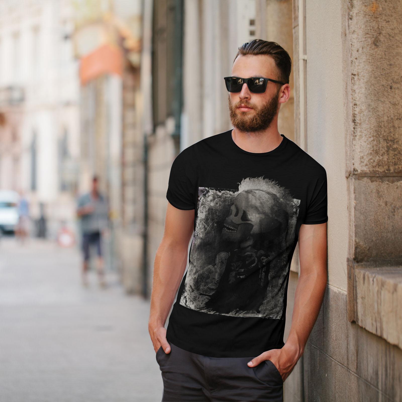 Wellcoda Punk Art Metal Metal Metal Rock T-shirt homme indien, conception graphique imprimé Tee c94dd3