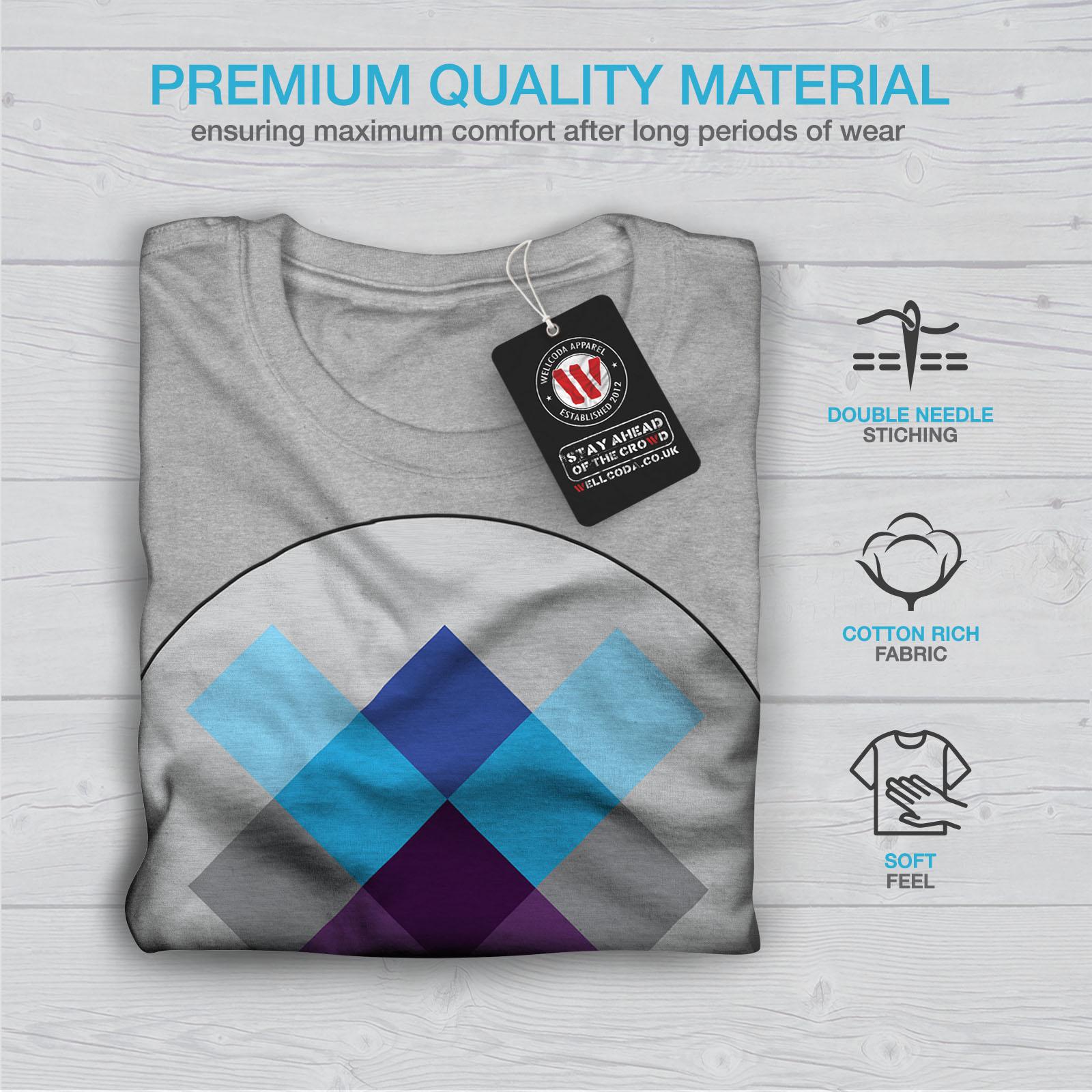 Tripping Graphic Design Printed Tee Wellcoda Geometry Ornament Mens T-shirt