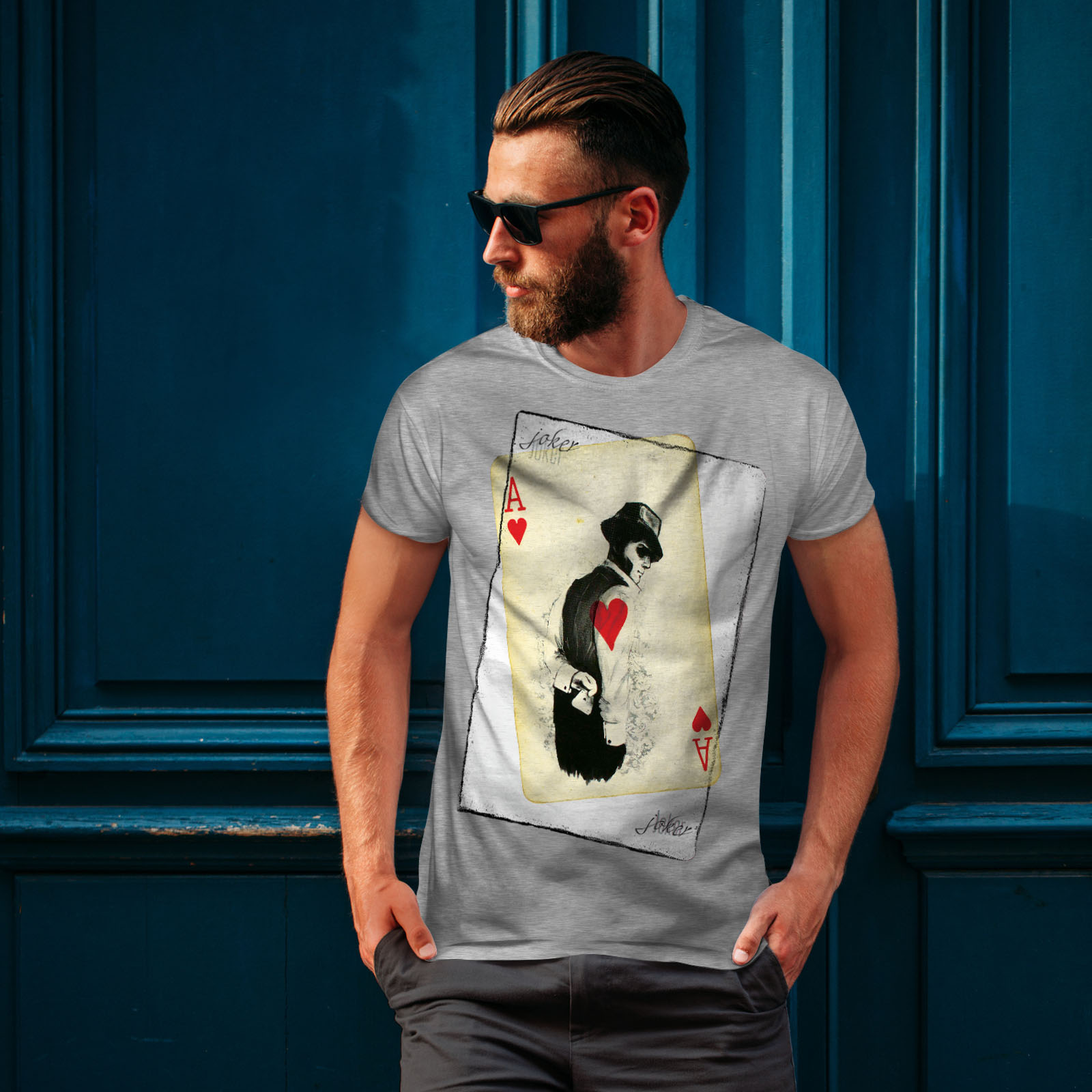 Wellcoda-POKER-misterioso-Da-Uomo-T-shirt-Gamble-design-grafico-stampato-T-shirt miniatura 16