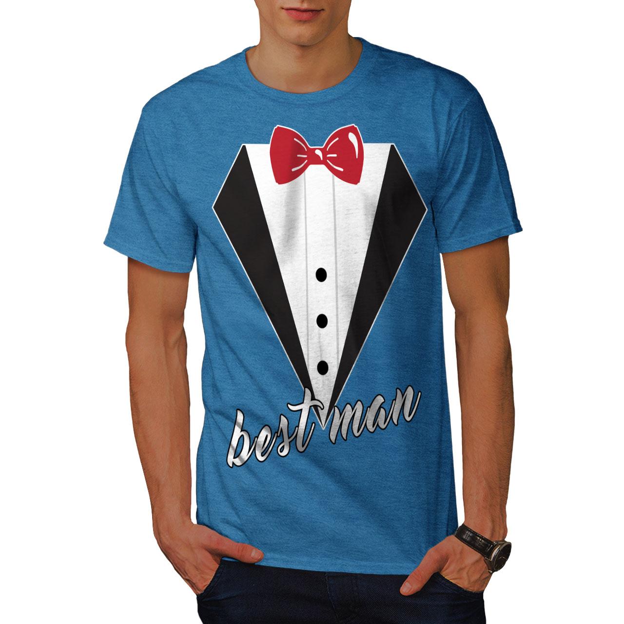 Wellcoda Wedding Time Mens T-shirt, Best Graphic Design Printed Tee ...