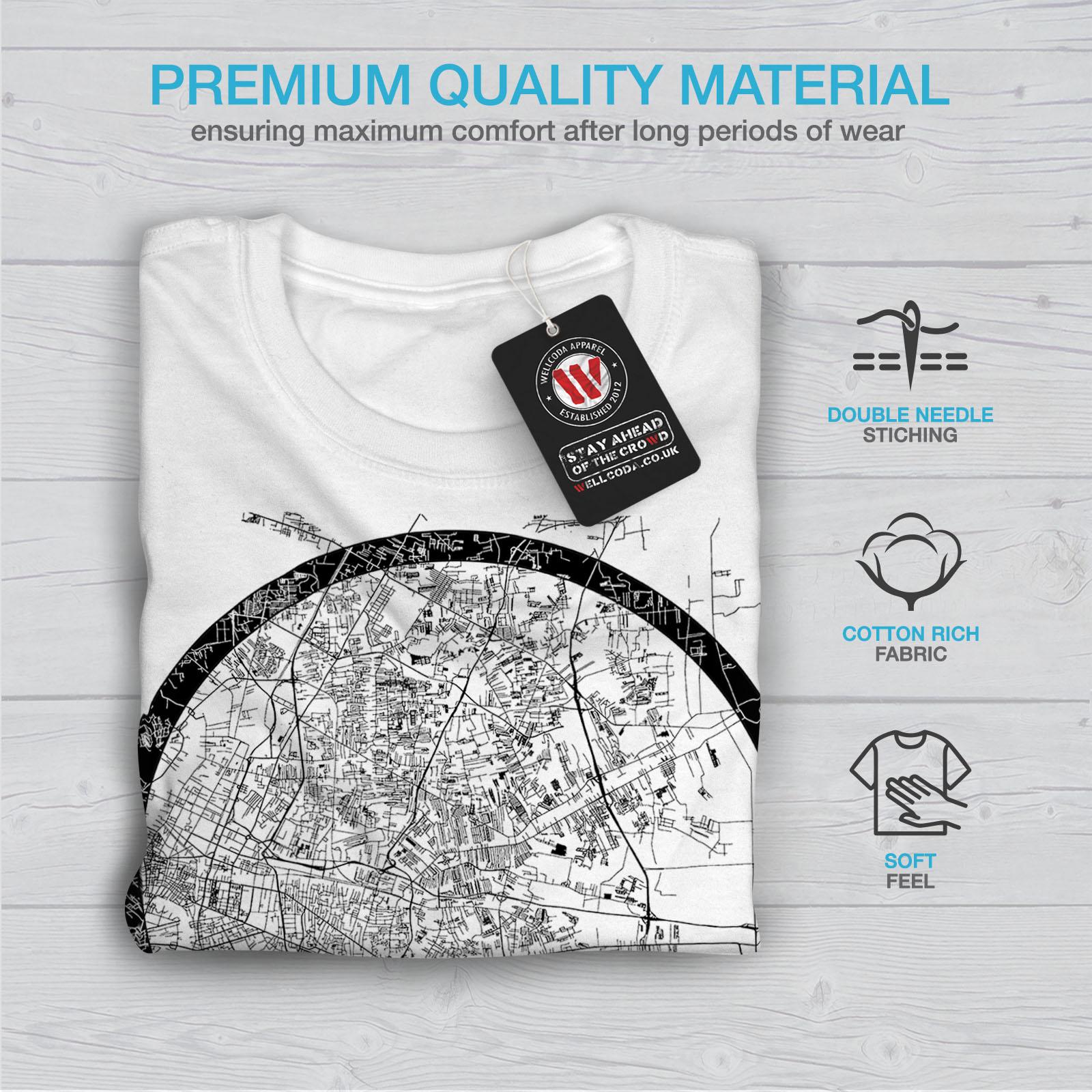 Wellcoda-Thailand-Bangkok-Map-Mens-T-shirt-Big-Graphic-Design-Printed-Tee thumbnail 13