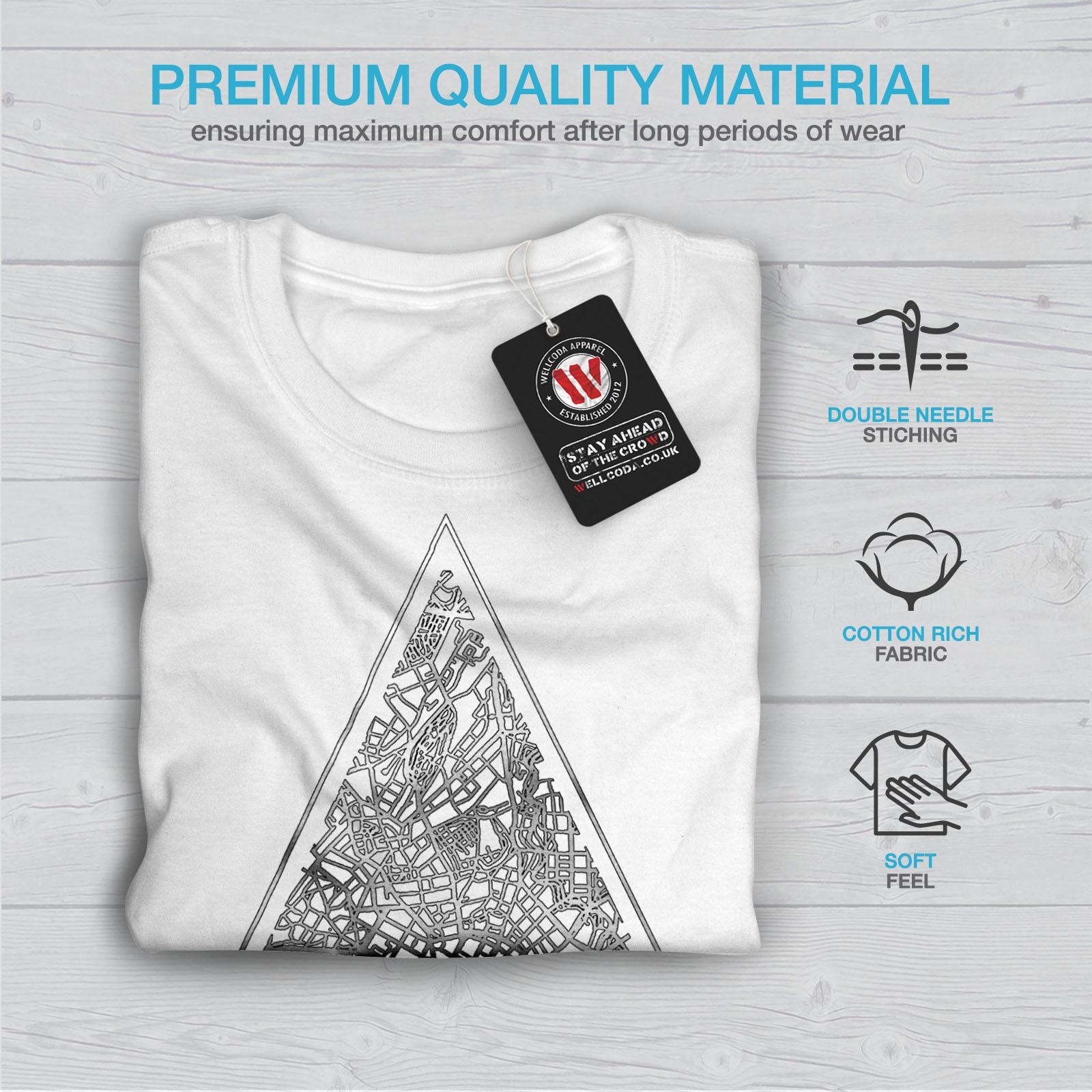 Wellcoda-Norvegia-Big-City-Oslo-da-uomo-T-shirt-Citta-design-grafico-stampato-T-shirt miniatura 13