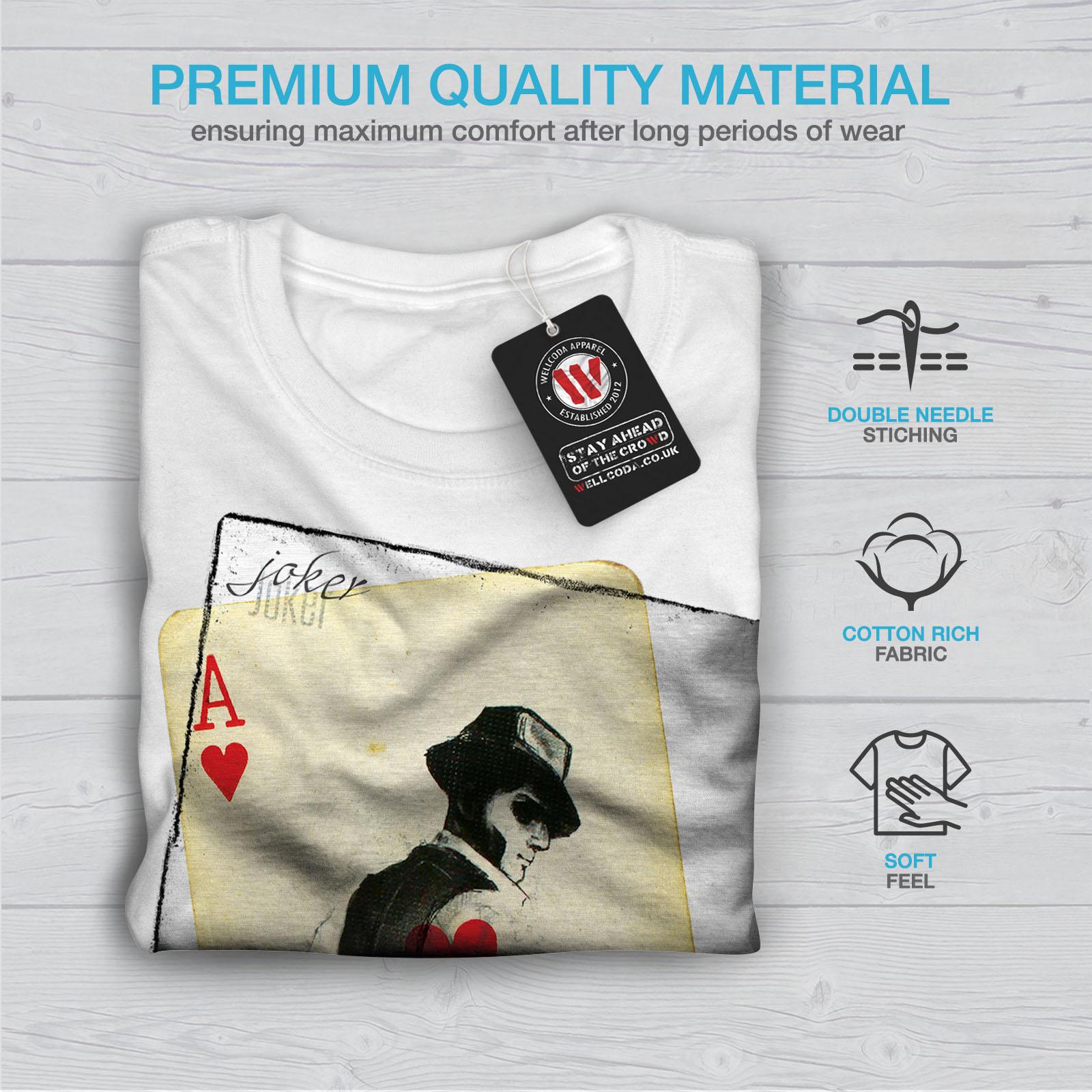 Wellcoda-POKER-misterioso-Da-Uomo-T-shirt-Gamble-design-grafico-stampato-T-shirt miniatura 13