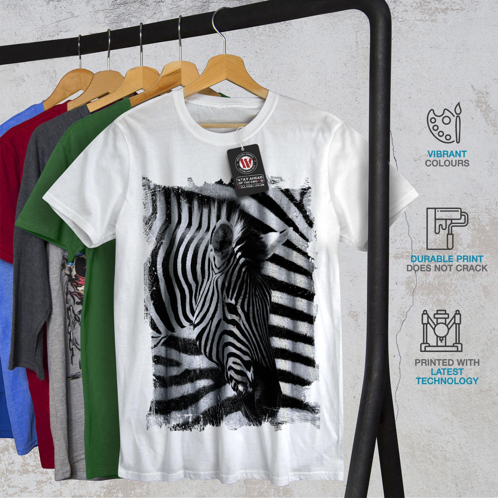 Zebra T Shirt Wellcoda Safari...